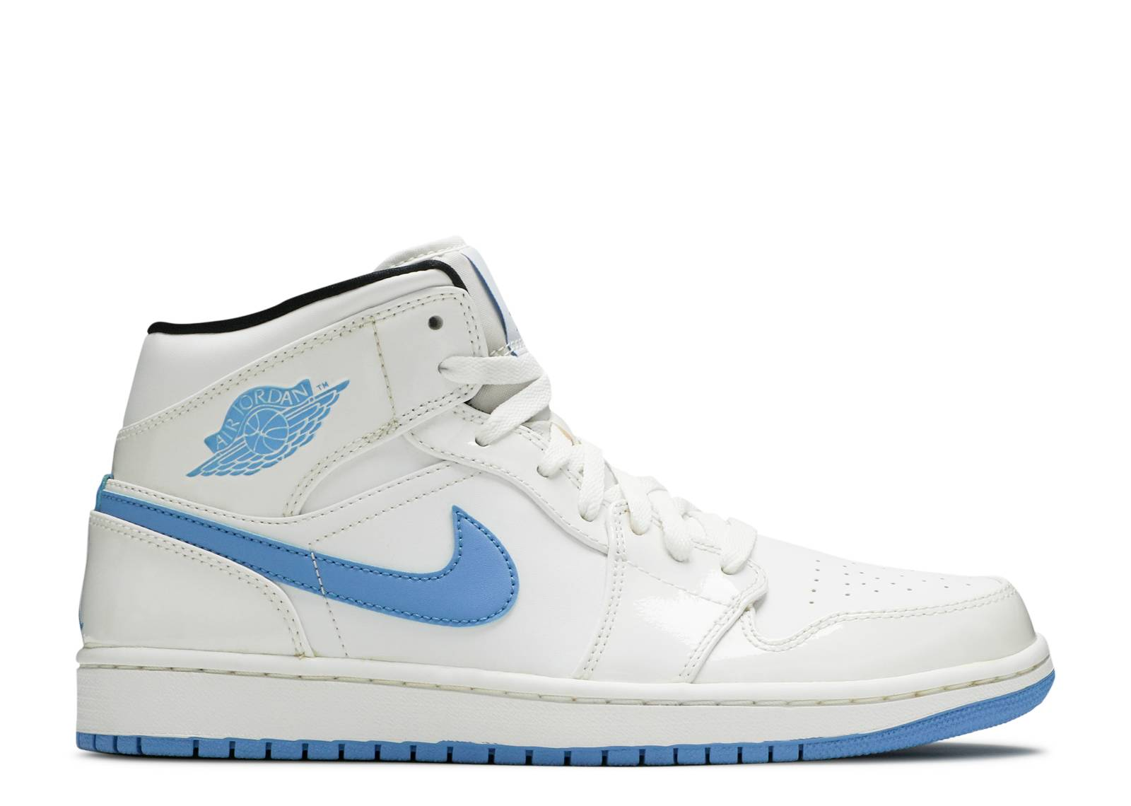 aec8027e4fd Air Jordan 1 Retro Mid - Air Jordan - 554724 127 - white legend blue ...