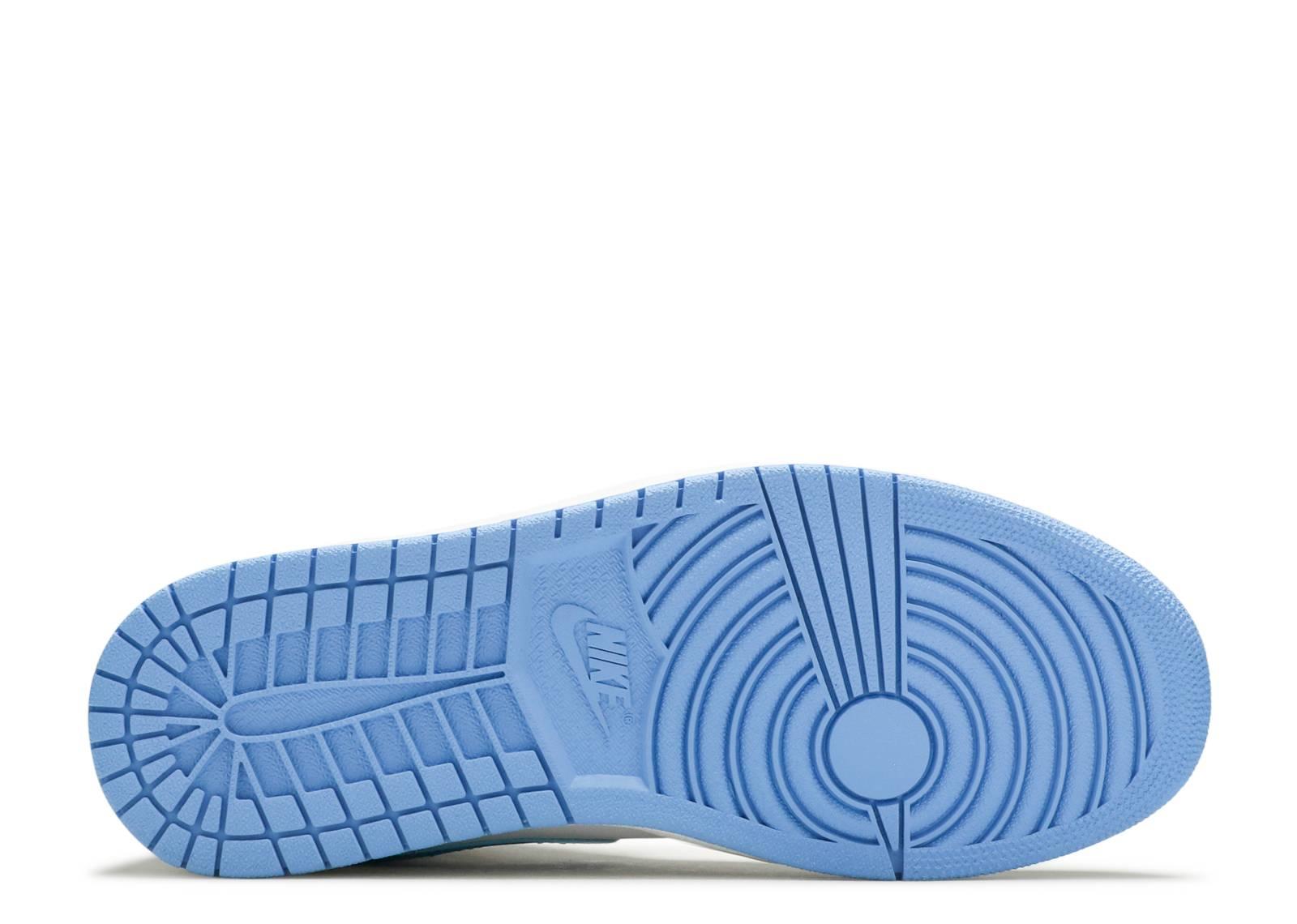 Air Jordan 1 Retro Mid - Air Jordan - 554724 127 - white legend blue ... a354276639c7