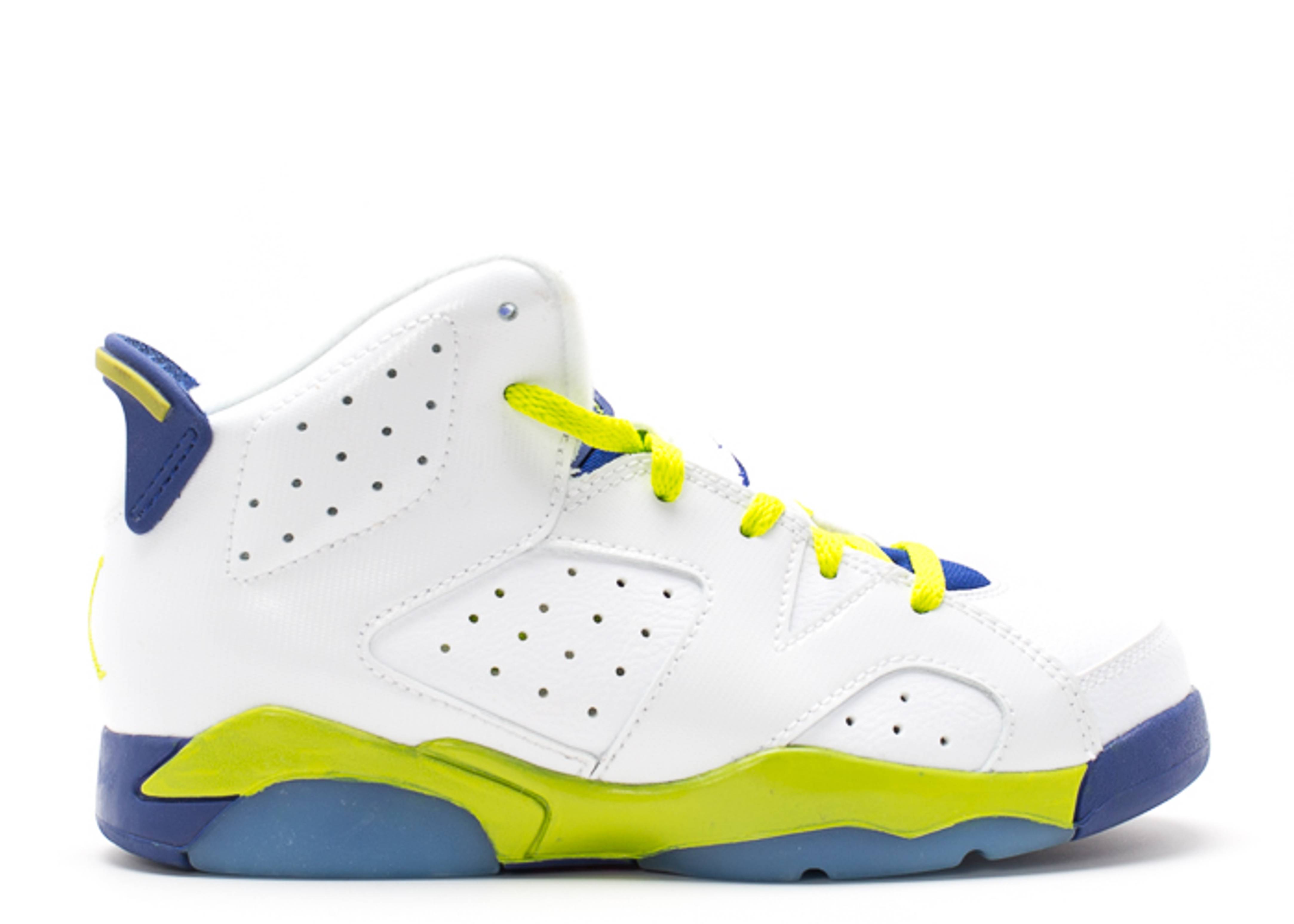 Jordan 6 Retro GP - 543389-108 - Size 3 - k799un