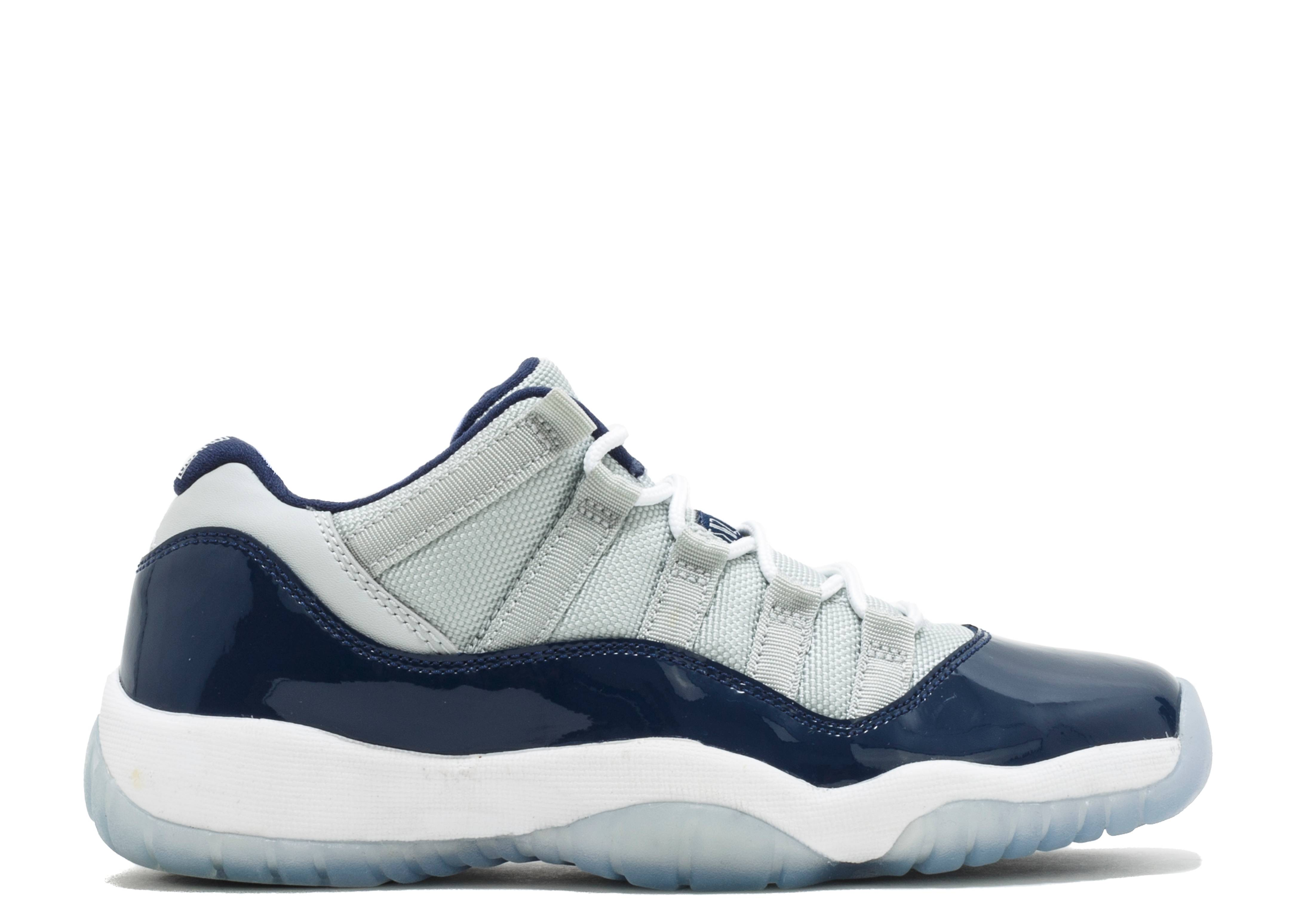 "air jordan 11 retro low bg (gs) ""georgetown"""