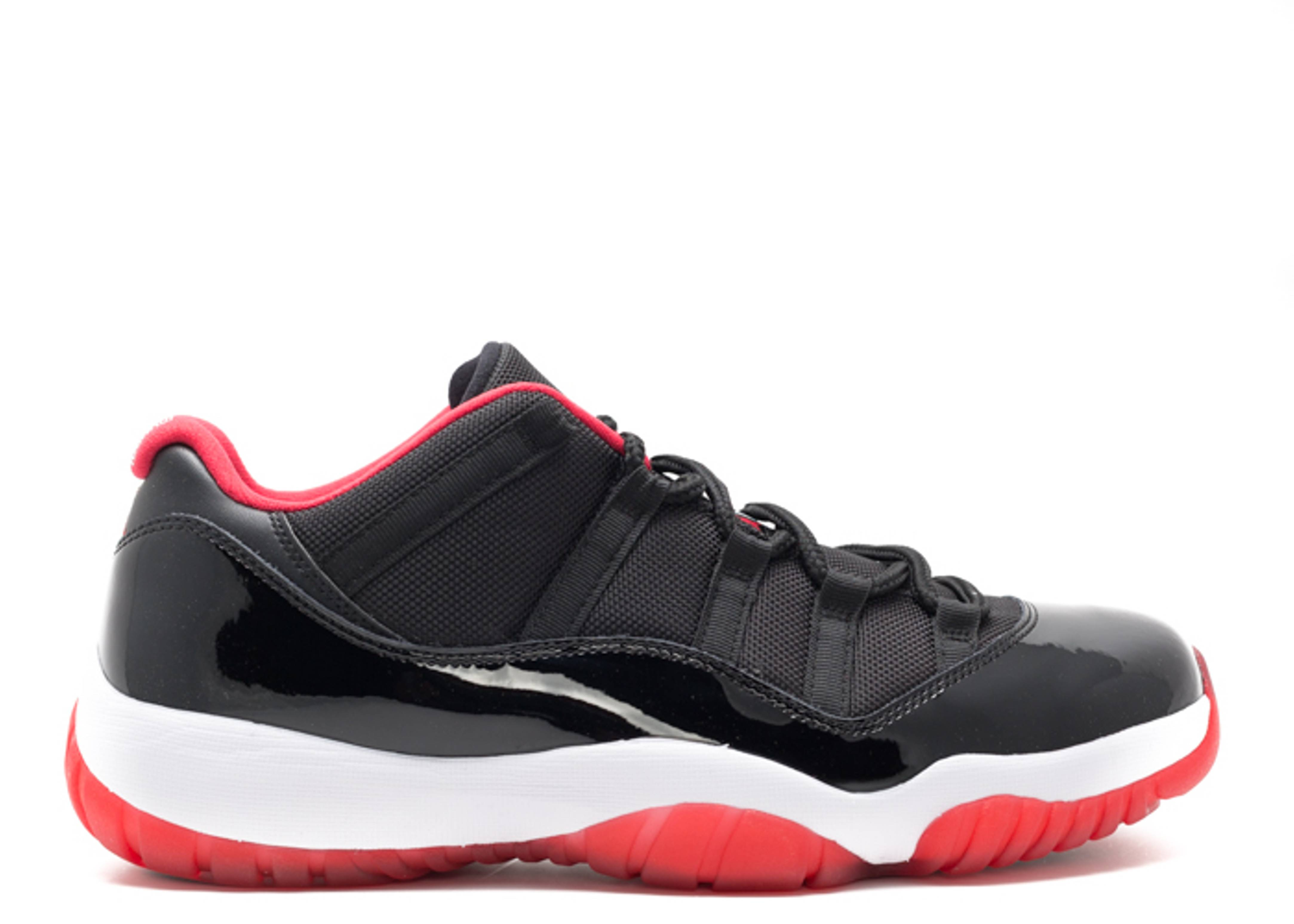 "air jordan 11 retro low ""bred"""