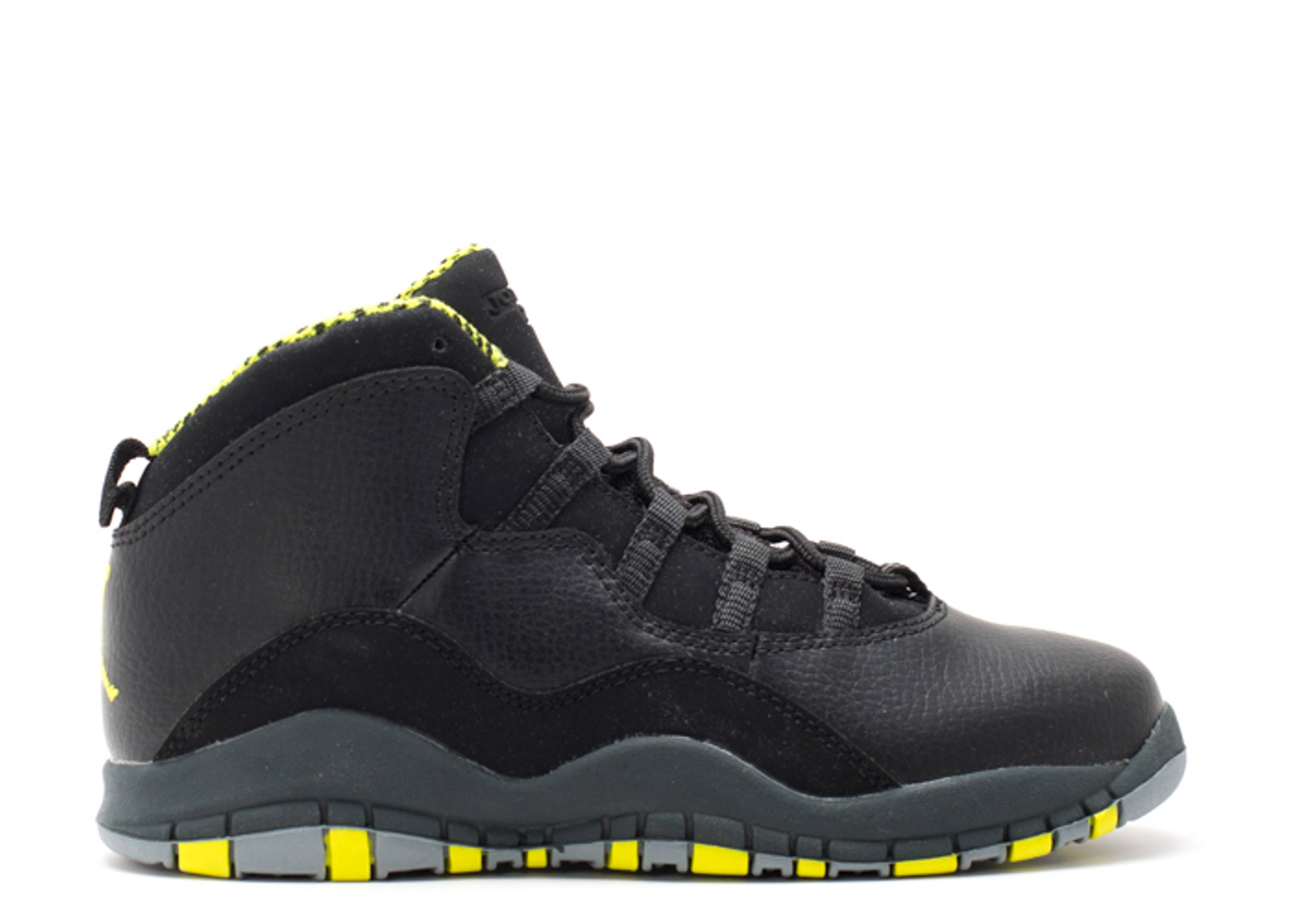 size 40 0daf8 9704e Jordan 10 Retro (ps) - Air Jordan - 310807 033 - black / vnm ...