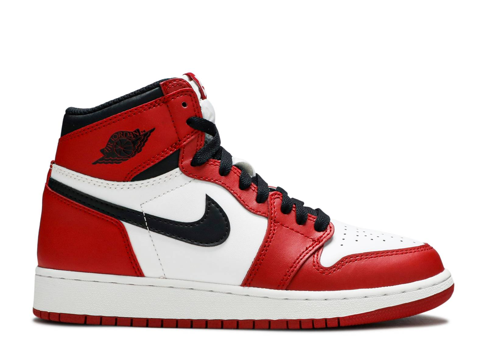 air jordan 1 black white red