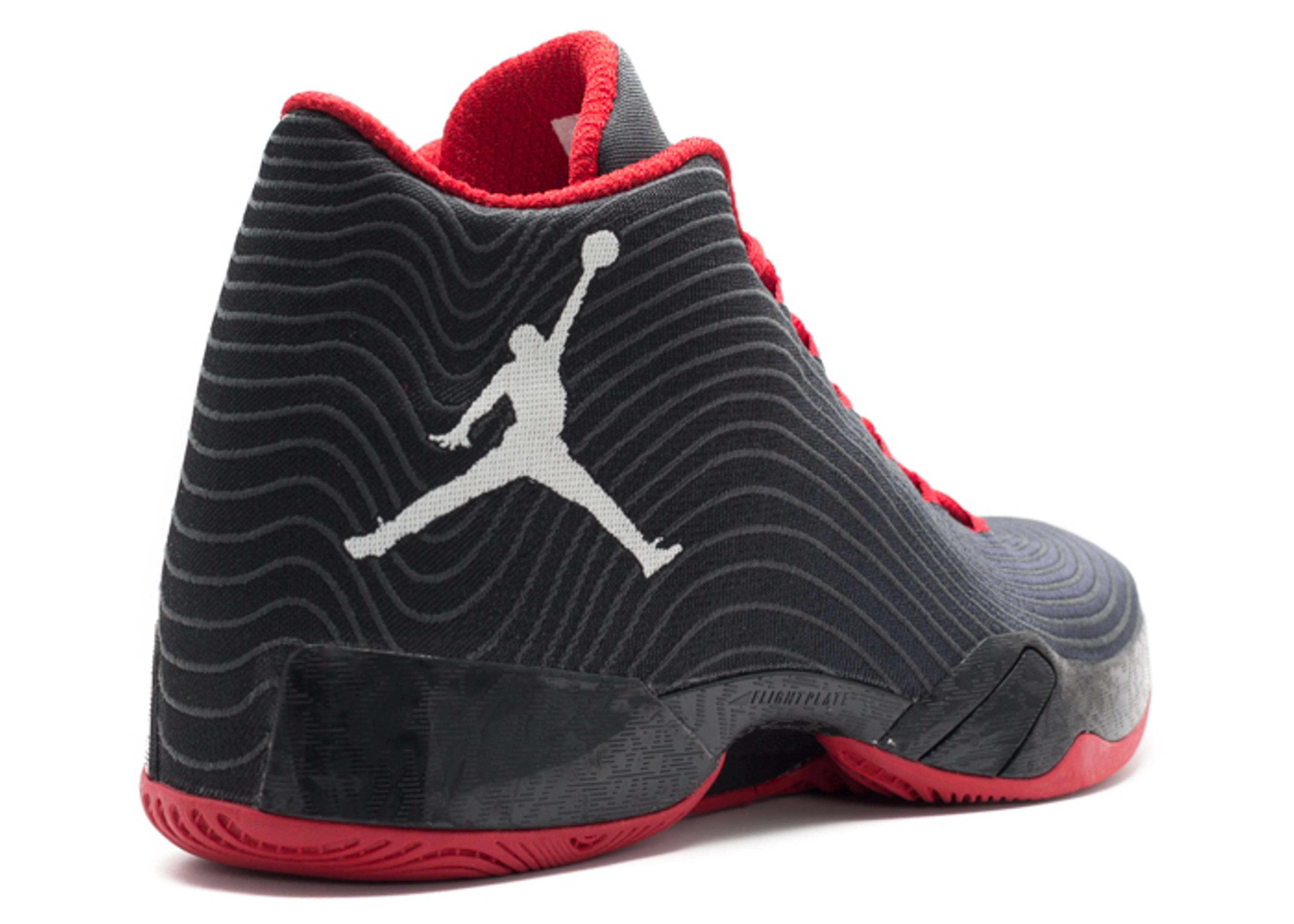 air jordan 29 black white dark grey gym red