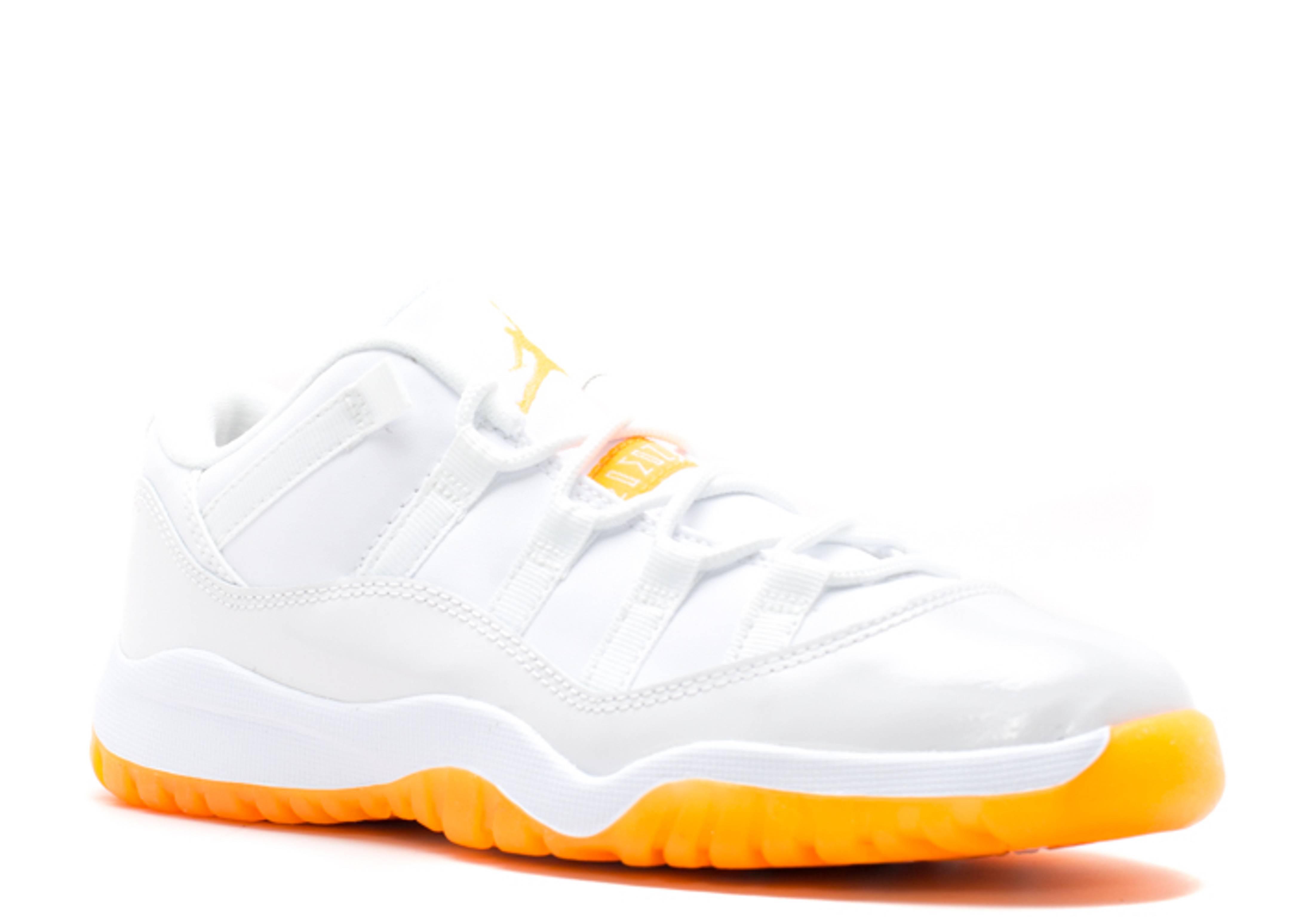 nike air jordan 11 retro low whitecitrus for sale rh ge iic com