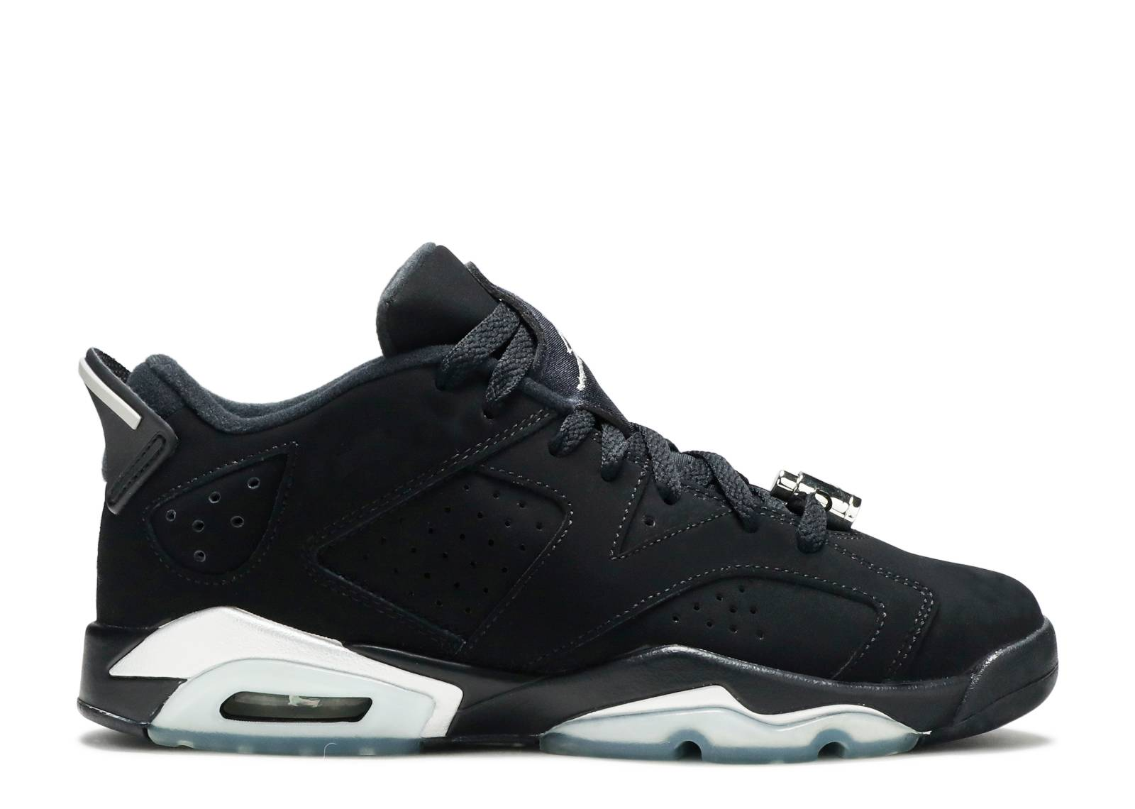"air jordan 6 retro low bg (gs) ""chrome"""