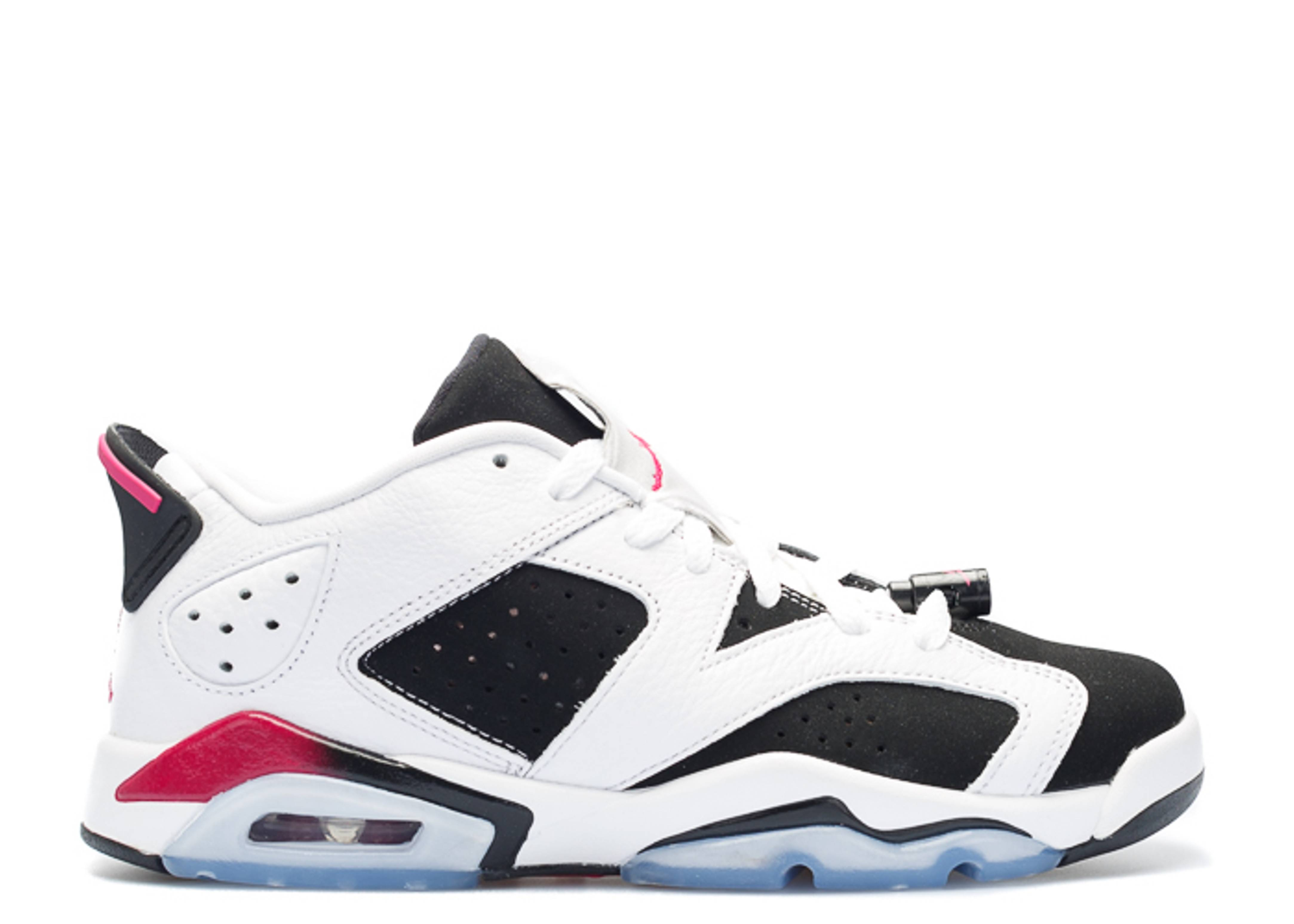 "air jordan 6 retro low gg (gs) ""fuchsia"""