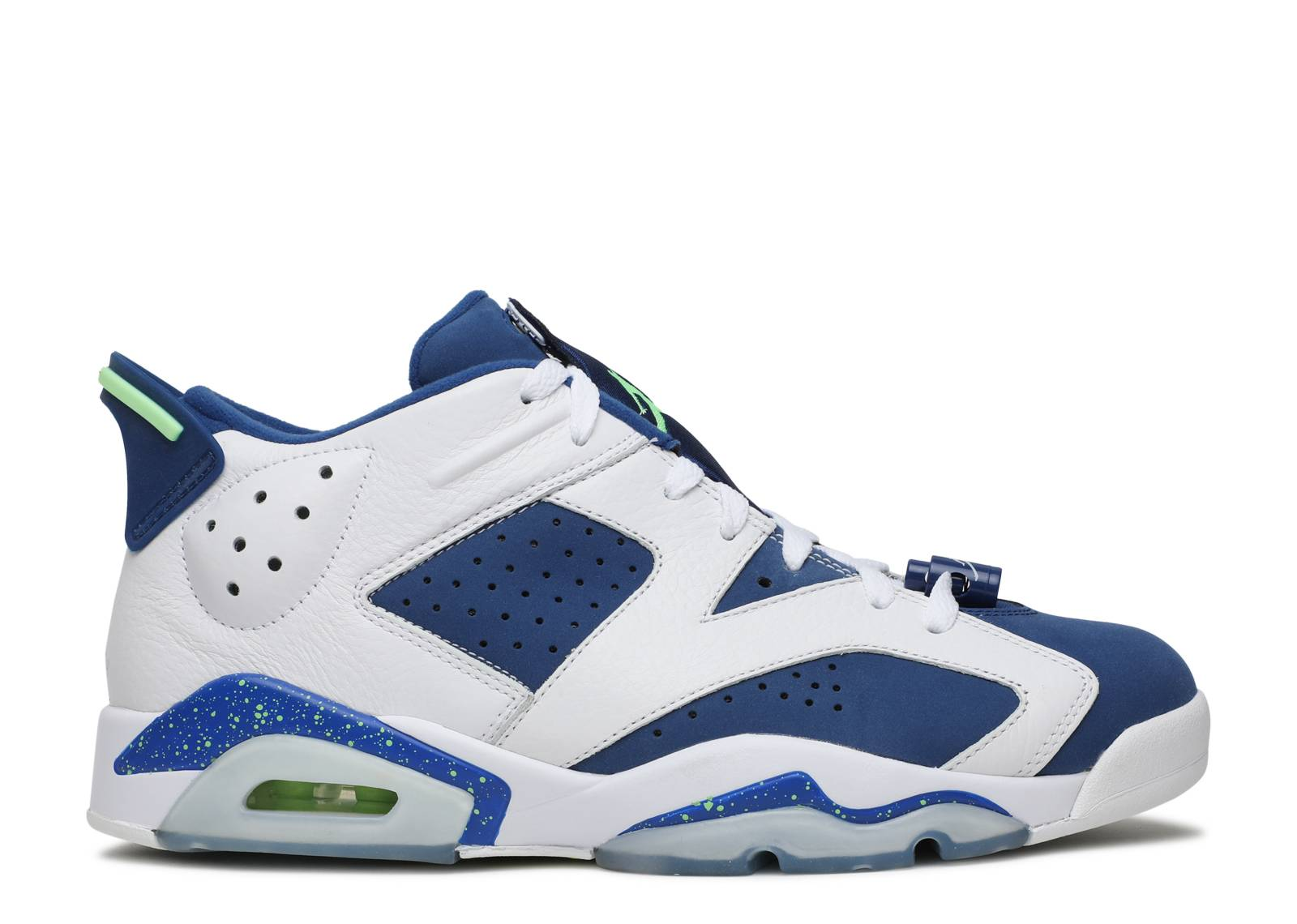 "air jordan 6 retro low ""seahawks"""