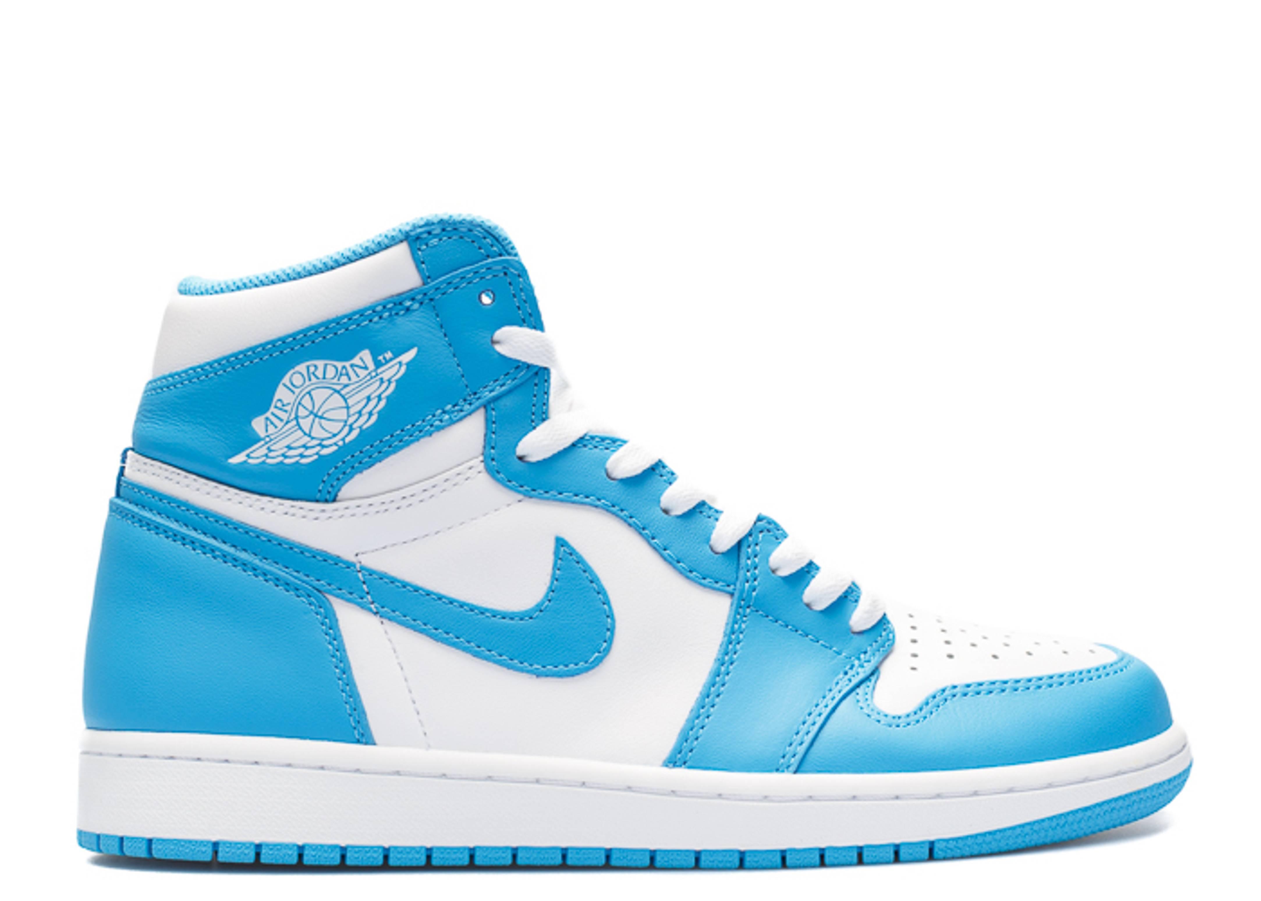 Air Jordan Blue And White
