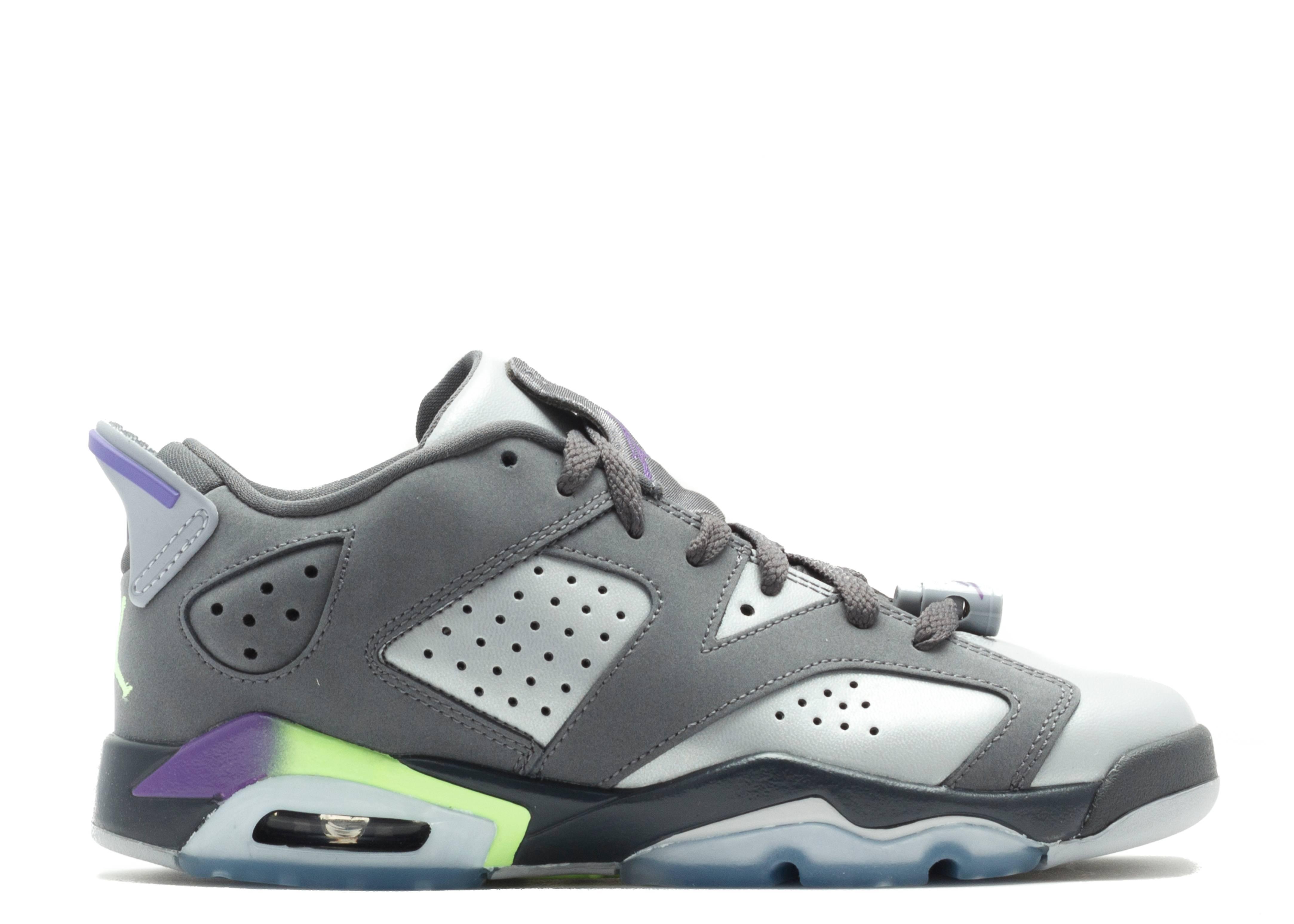 c9a1a401b43856 Air Jordan 6 Retro Low Gg (gs) - Air Jordan - 768878 008 - drk gry ...