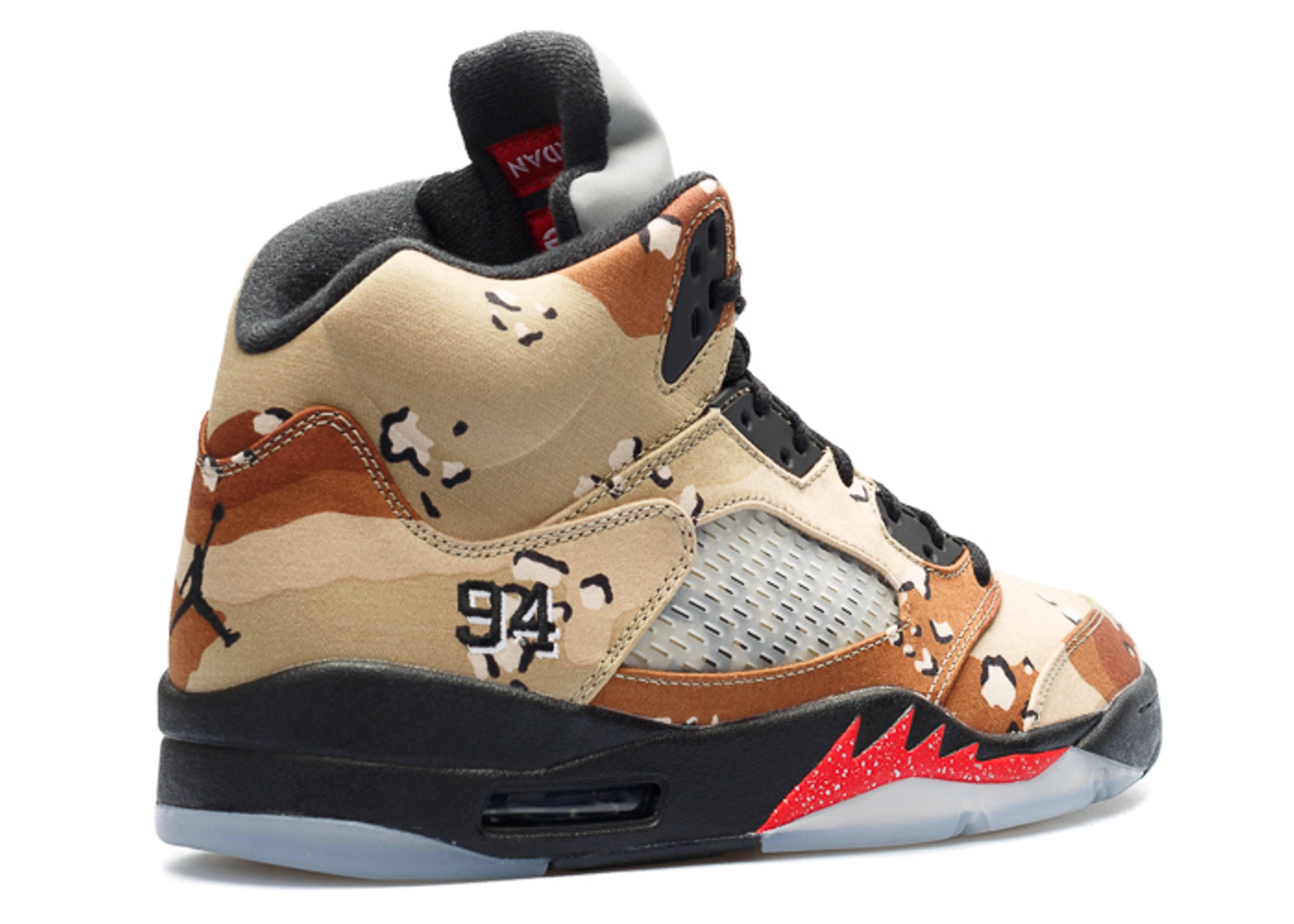 promo code c0d74 5e079 Air Jordan 5 Retro Supreme