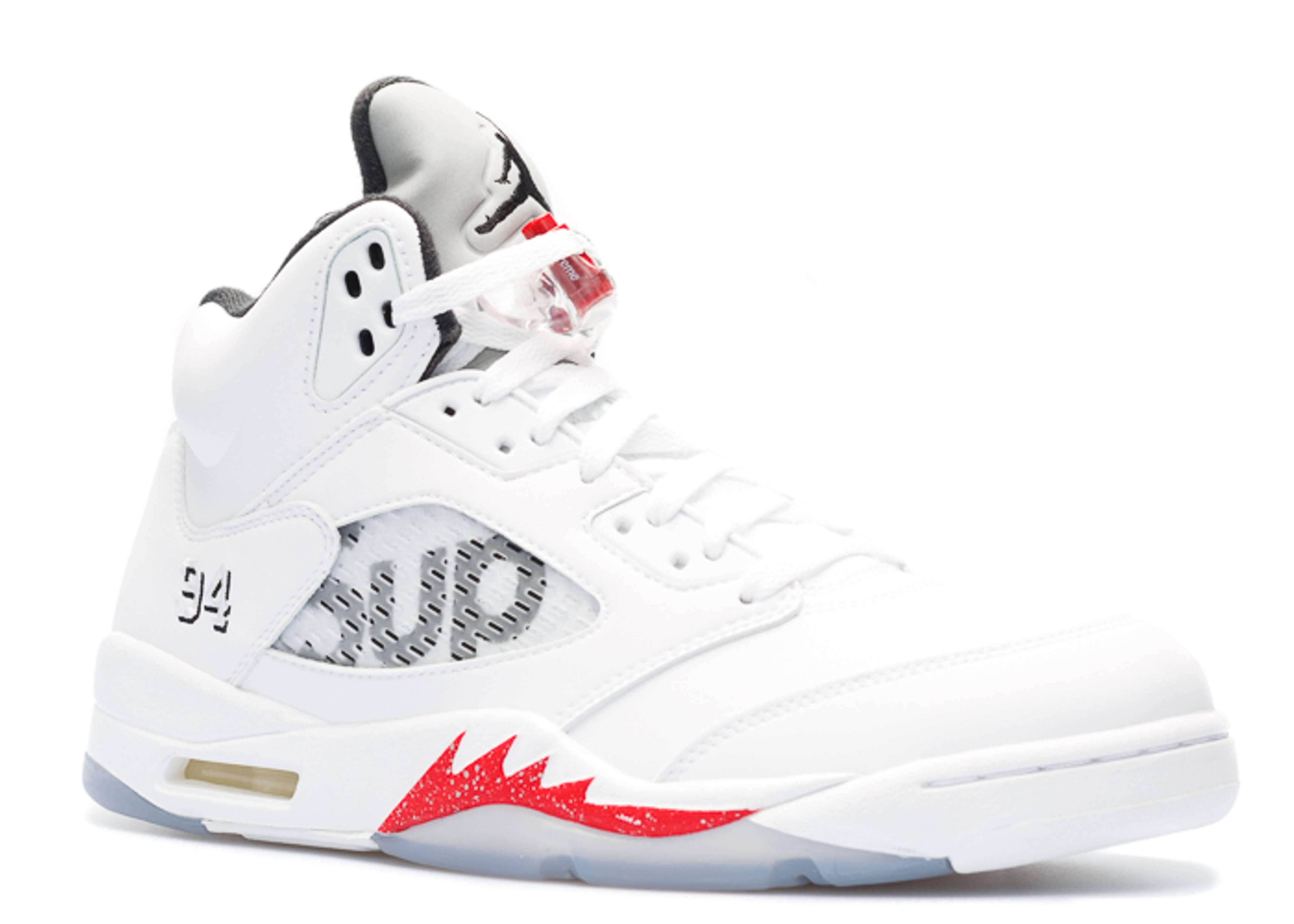 a039b231081572 Air Jordan 5 Retro Supreme