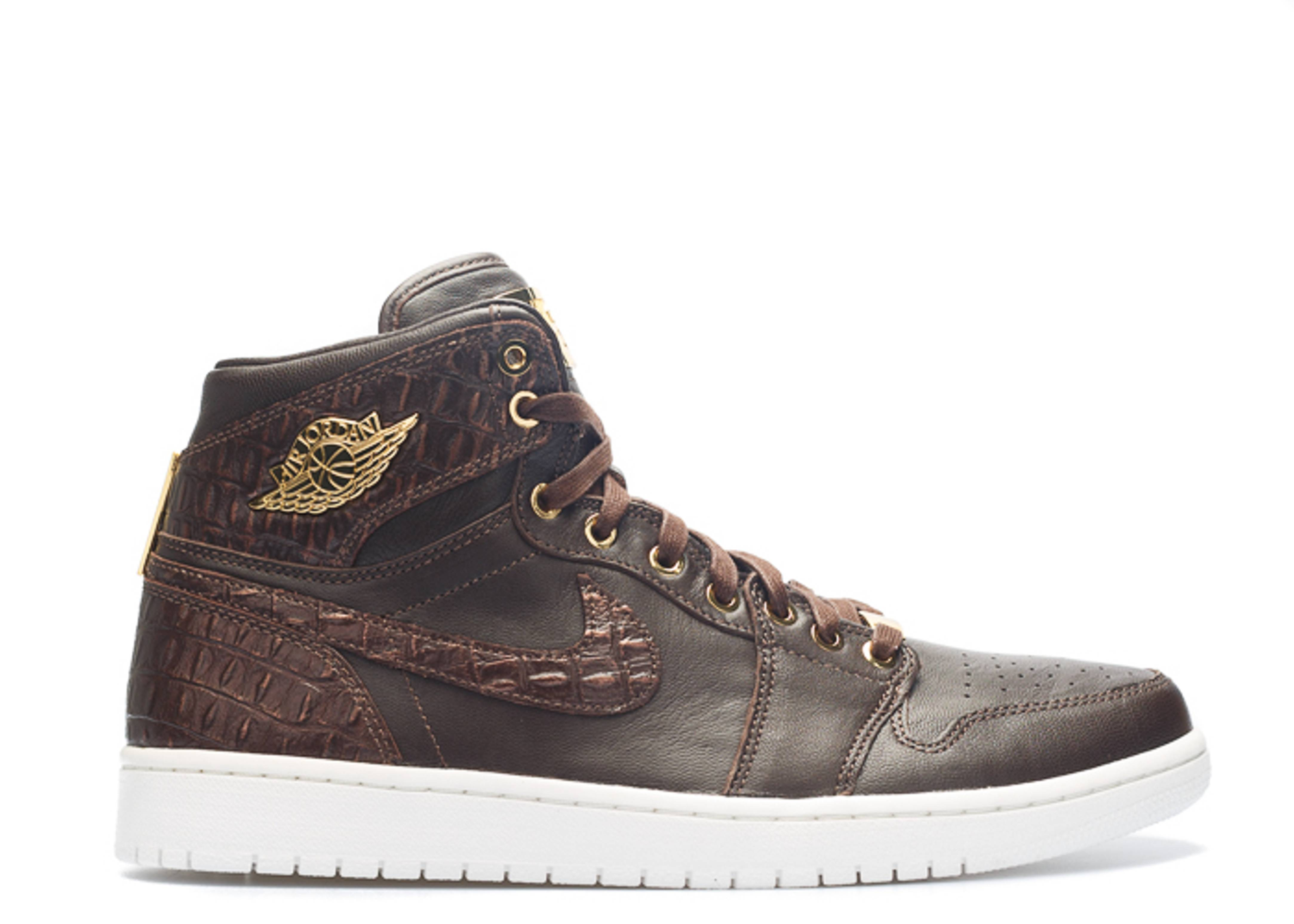 "air jordan 1 pinnacle ""baroque brown"""