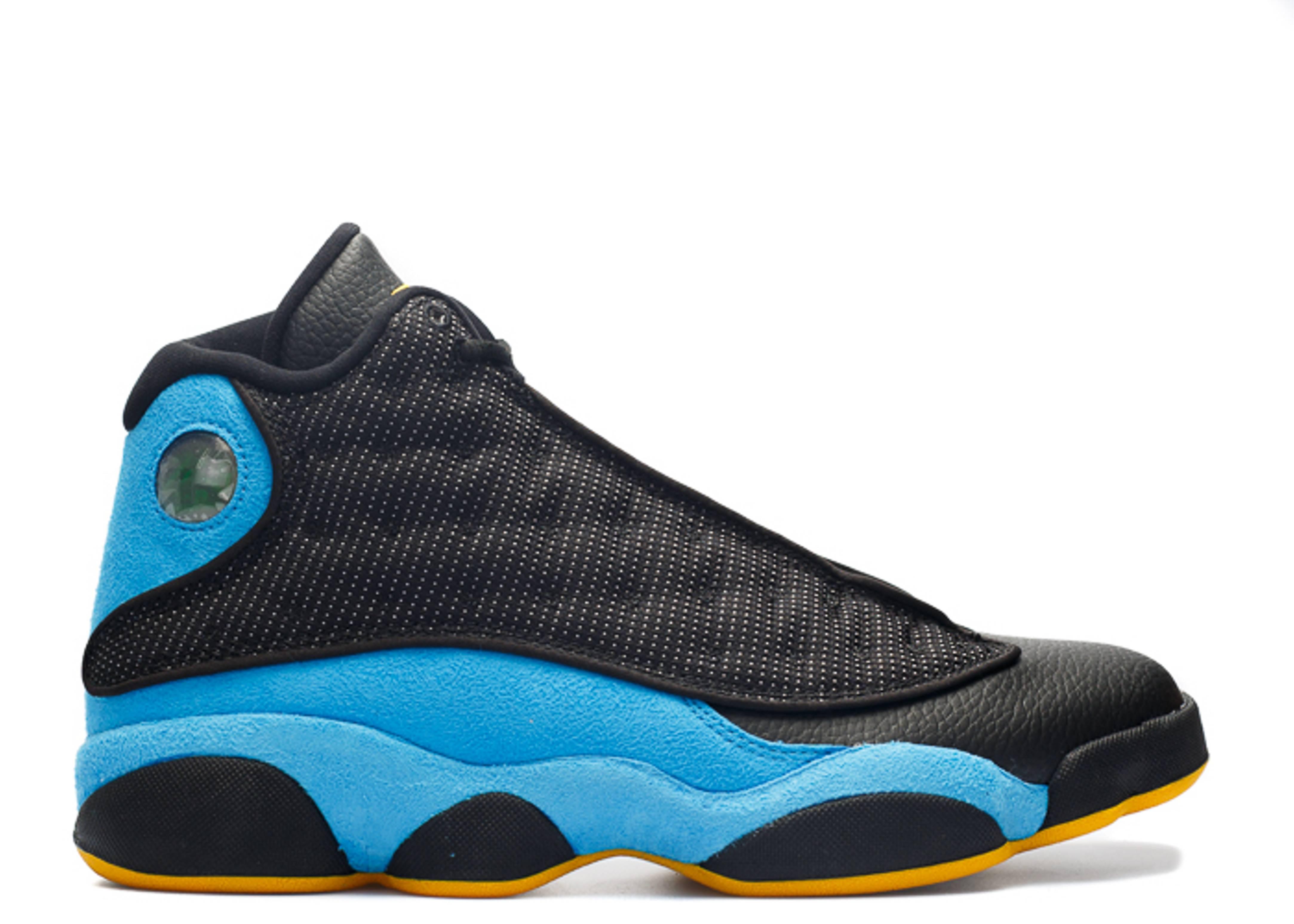 Air Jordan 13 Blue And Black