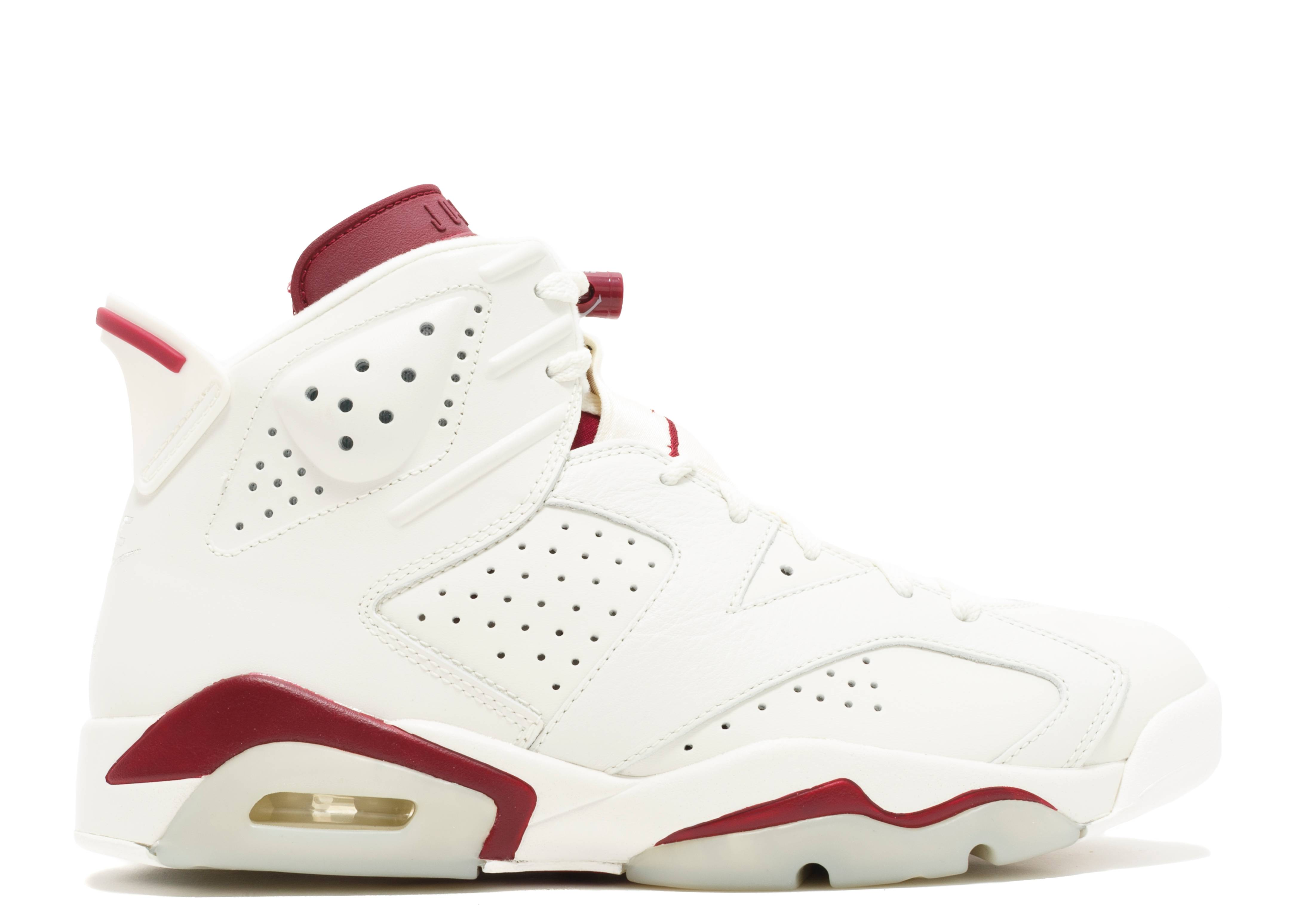 "air jordan 6 retro ""maroon"""