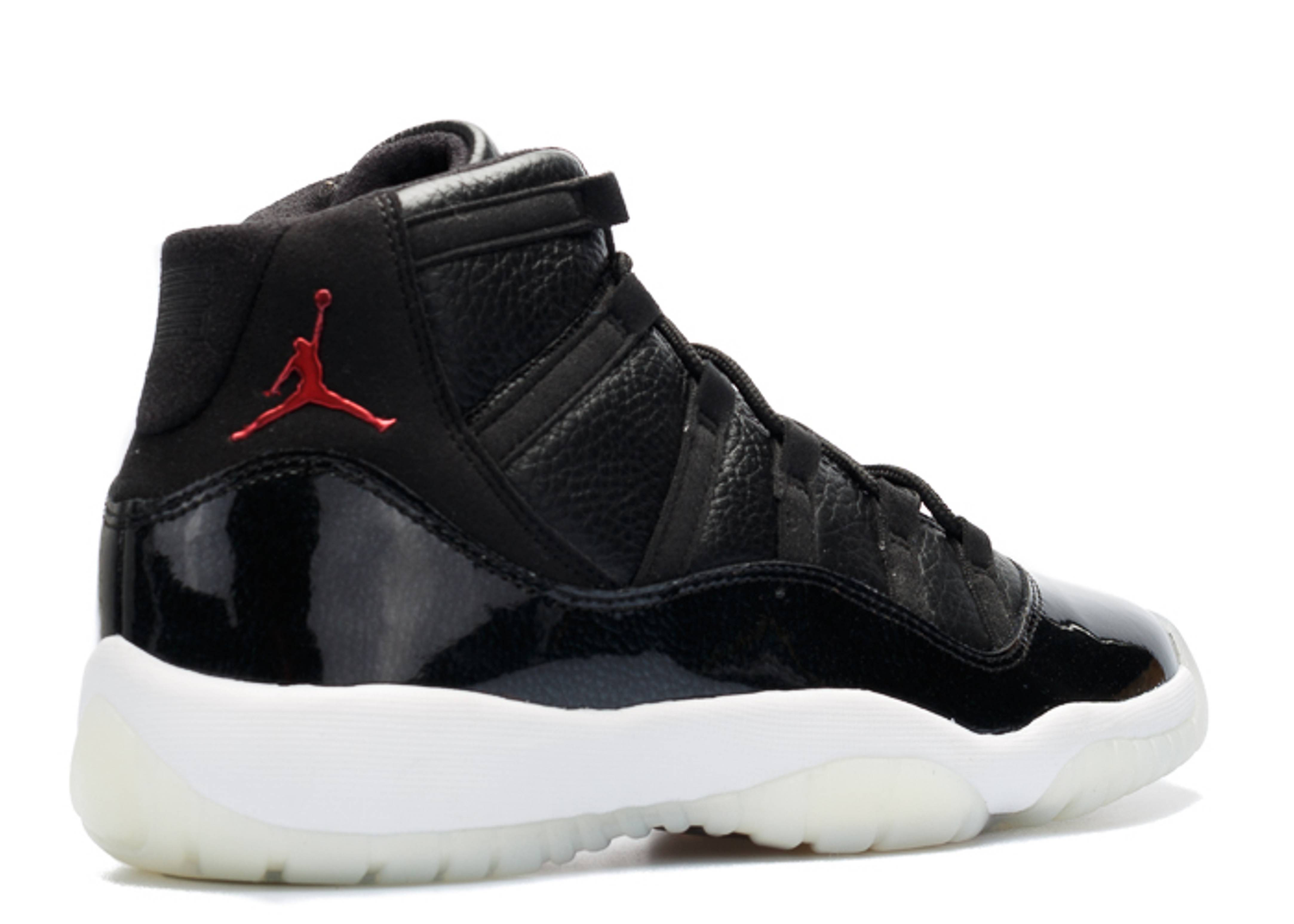 Jordan Retro 11: Air Jordan 11 Retro Bg (gs) Black/gym Red-white-anthracite