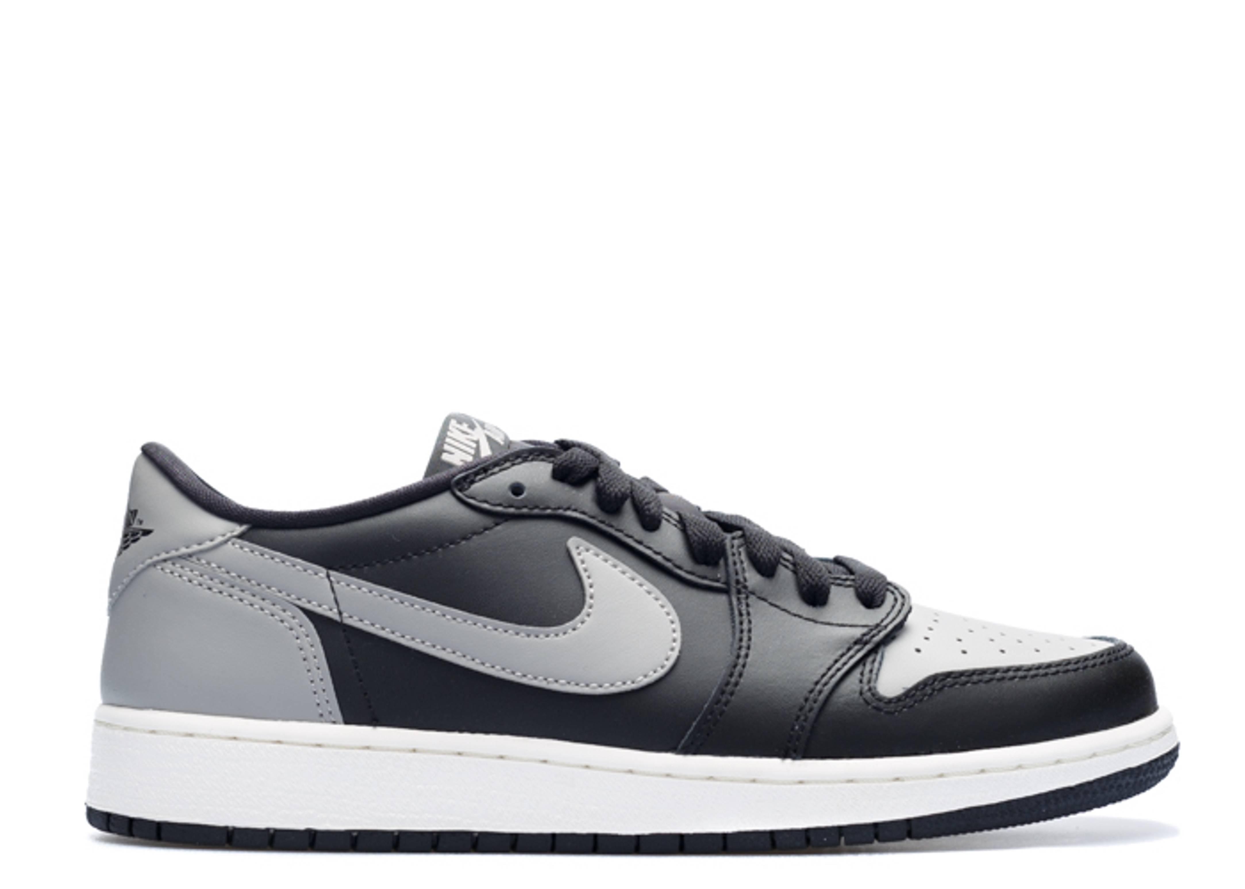 "air jordan 1 low og bg (gs) ""shadow"""