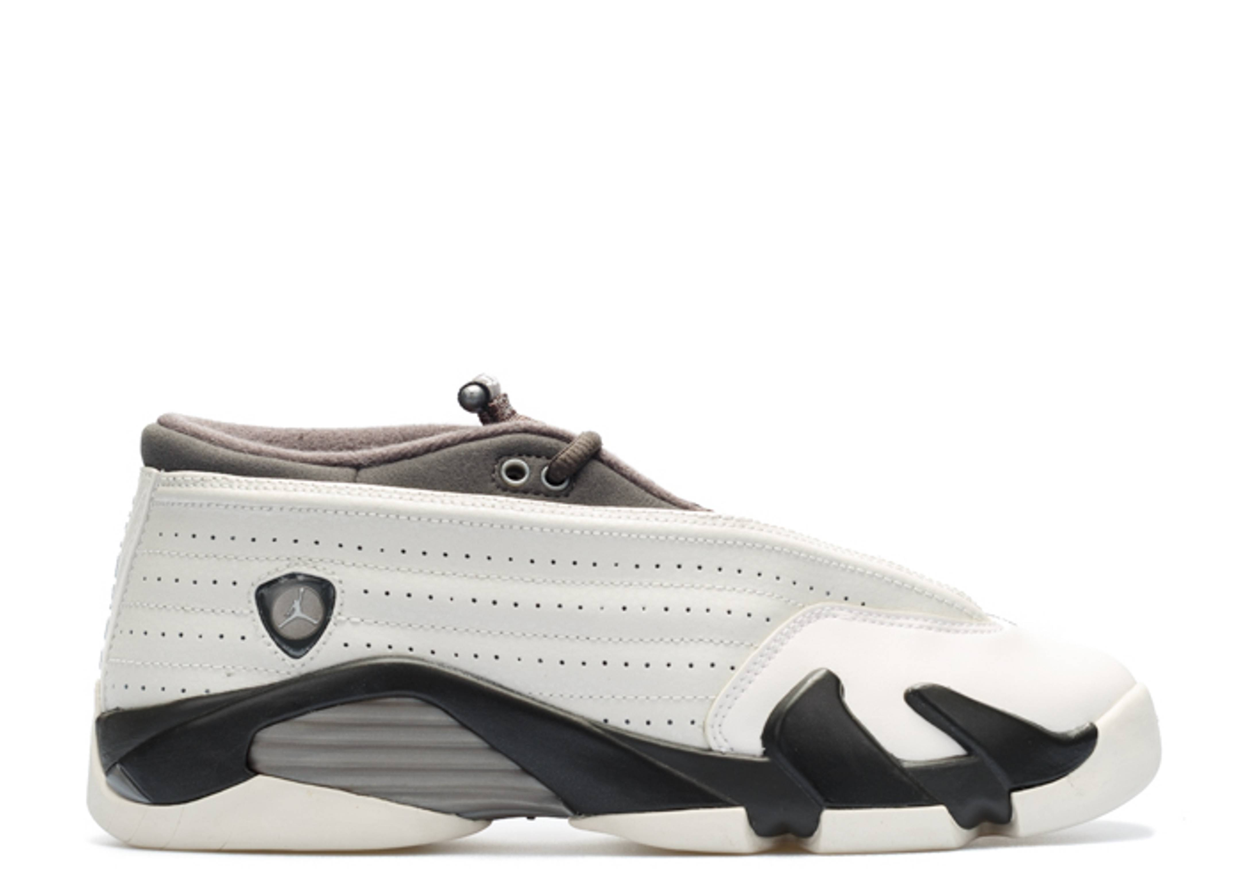 "air jordan 14 retro low prm gg (gs) ""phantom"""