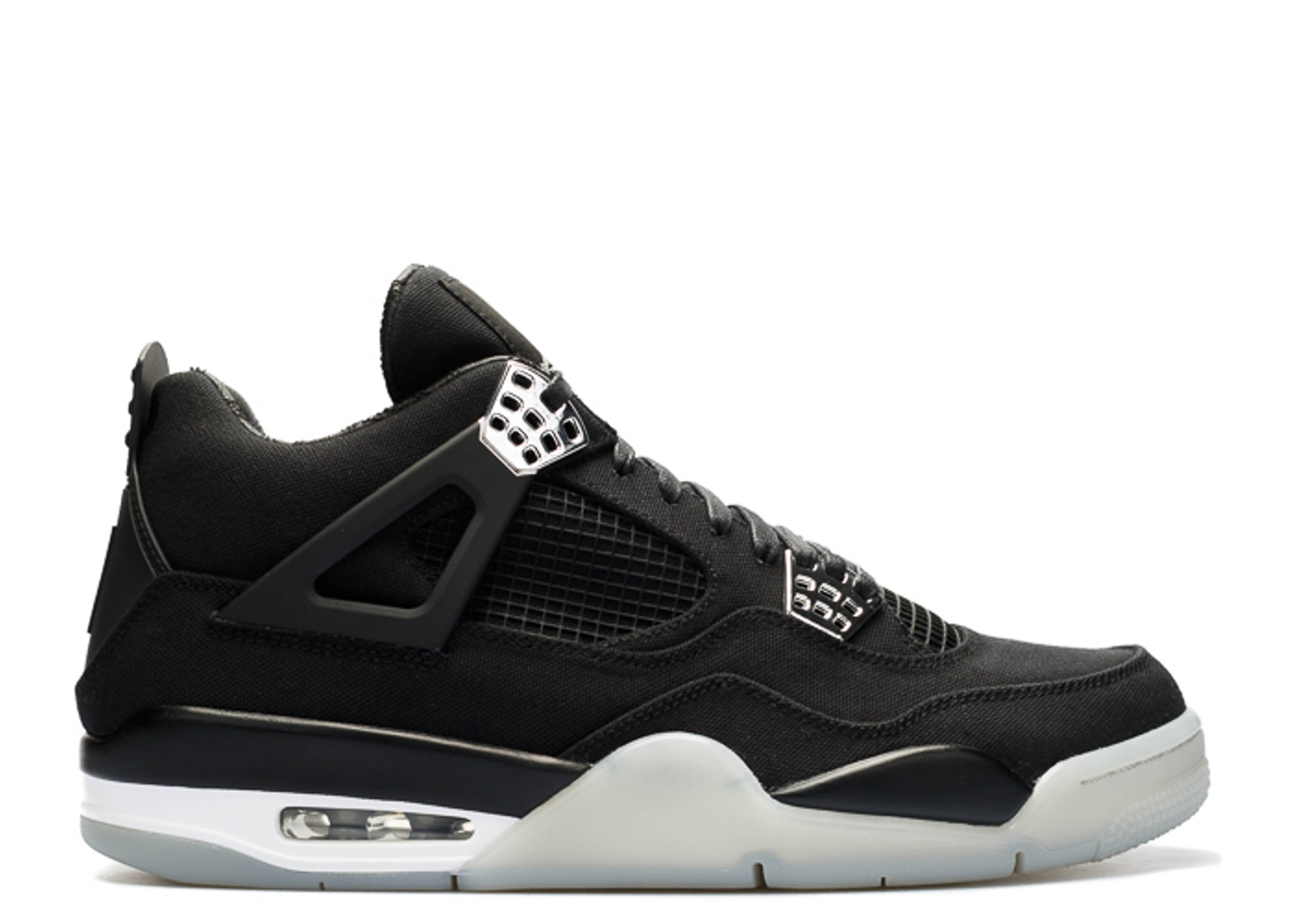 mago Hassy algun lado  Eminem X Carhartt X Air Jordan 4 'Black Chrome' - Air Jordan -  SP15-MNJDLS-879/582314 - black/white/chrome | Flight Club
