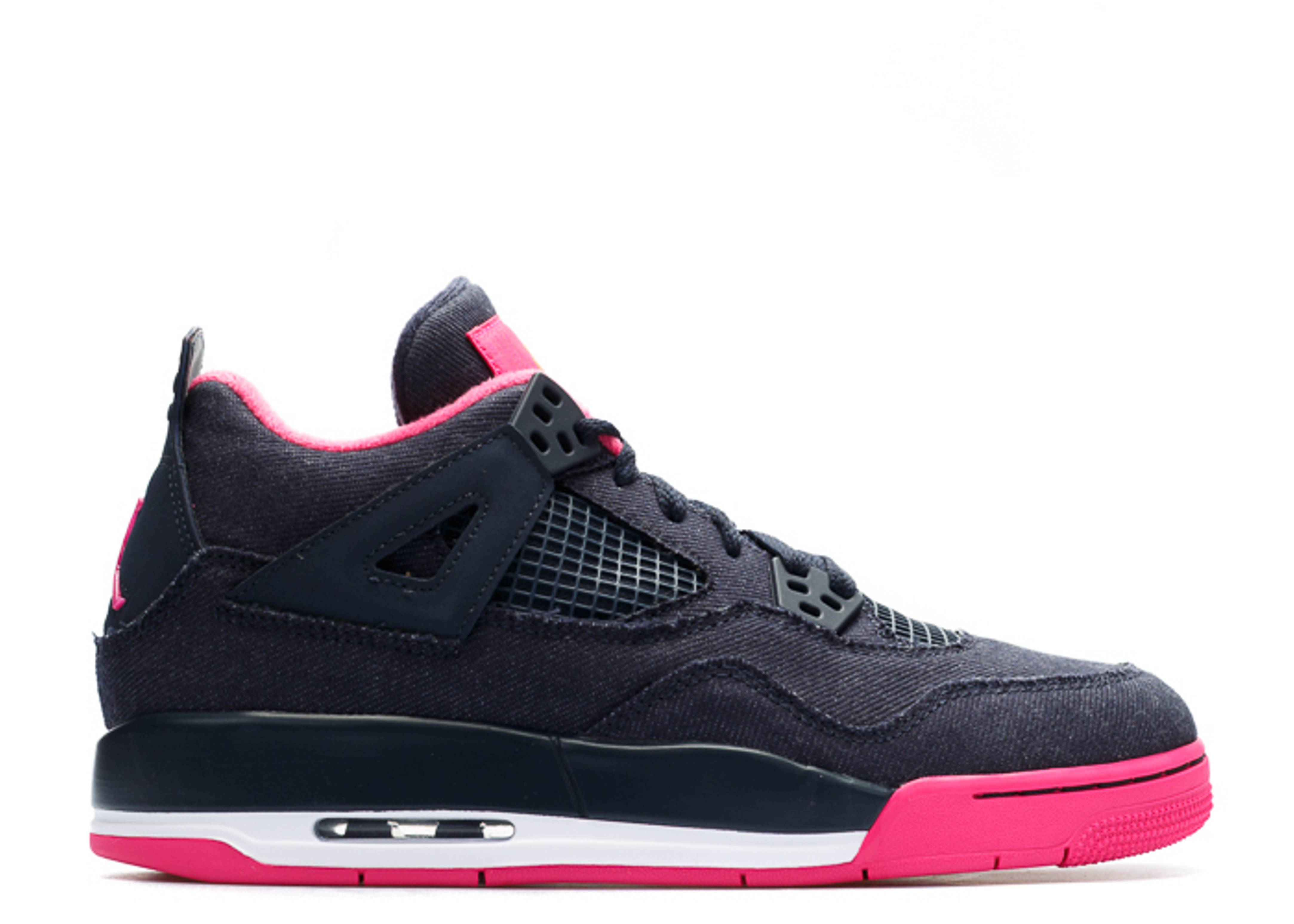 "air jordan 4 retro gg (gs) ""denim"""