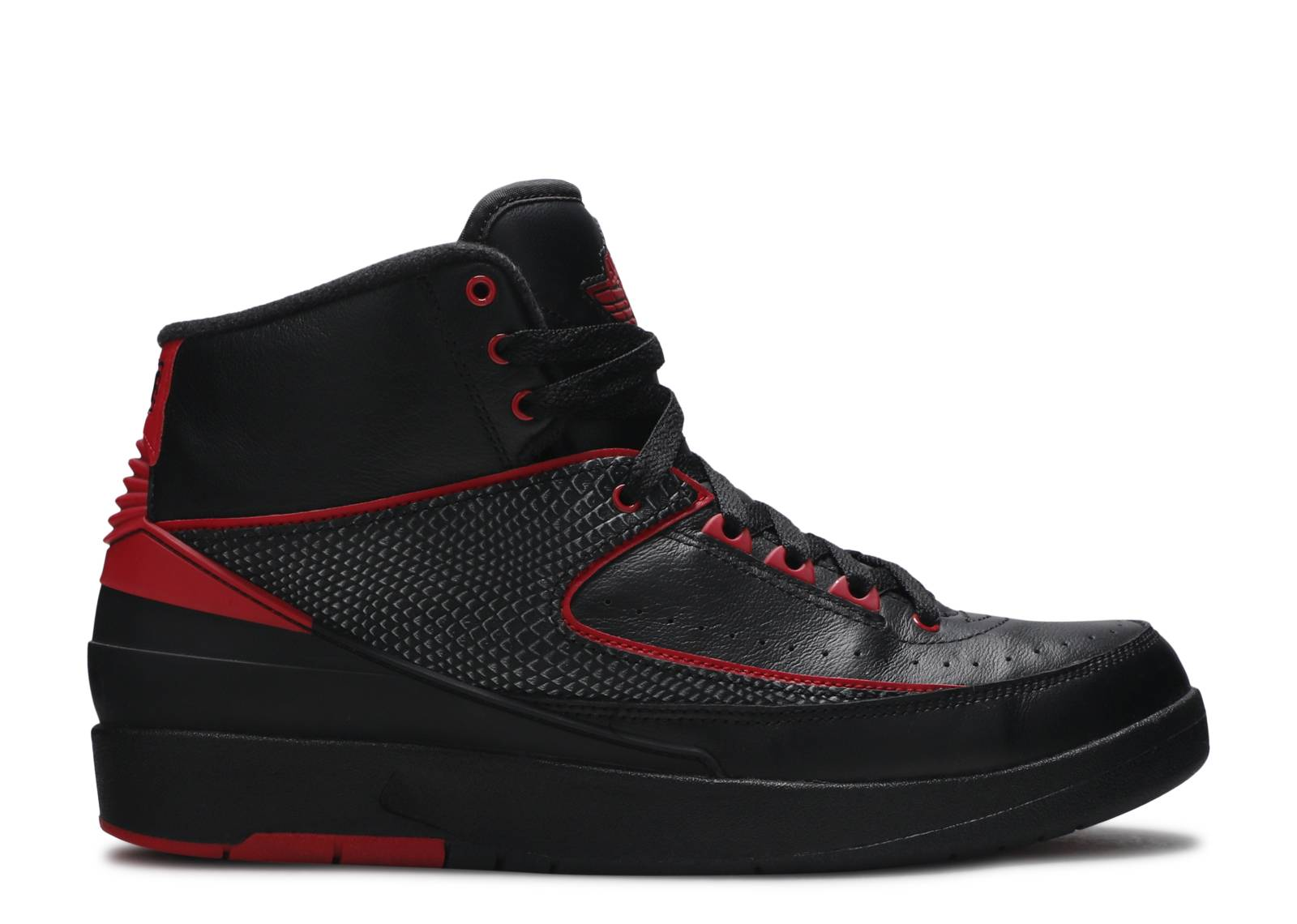 jordan 2 black and red