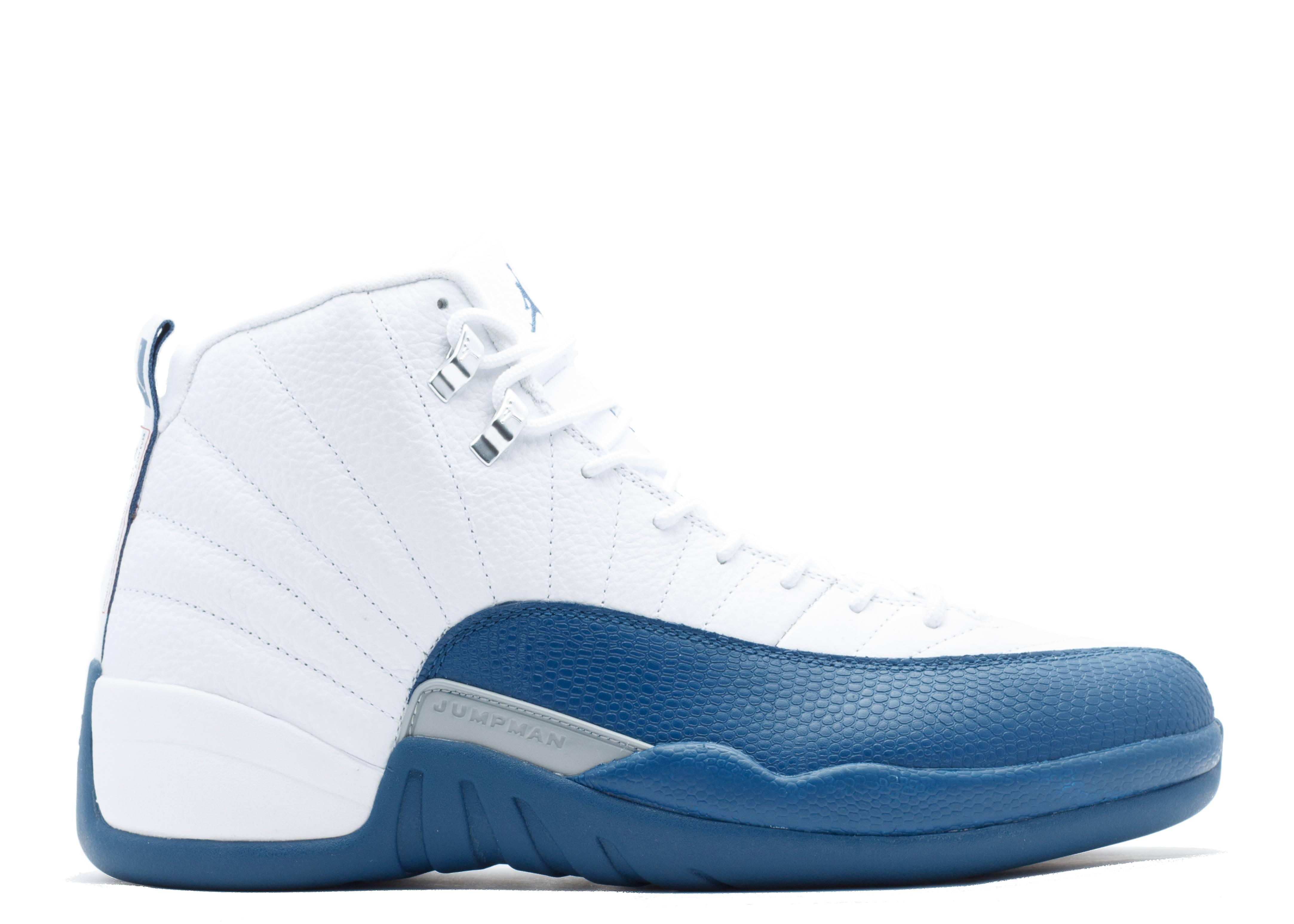 "air jordan 12 retro ""french blue"""
