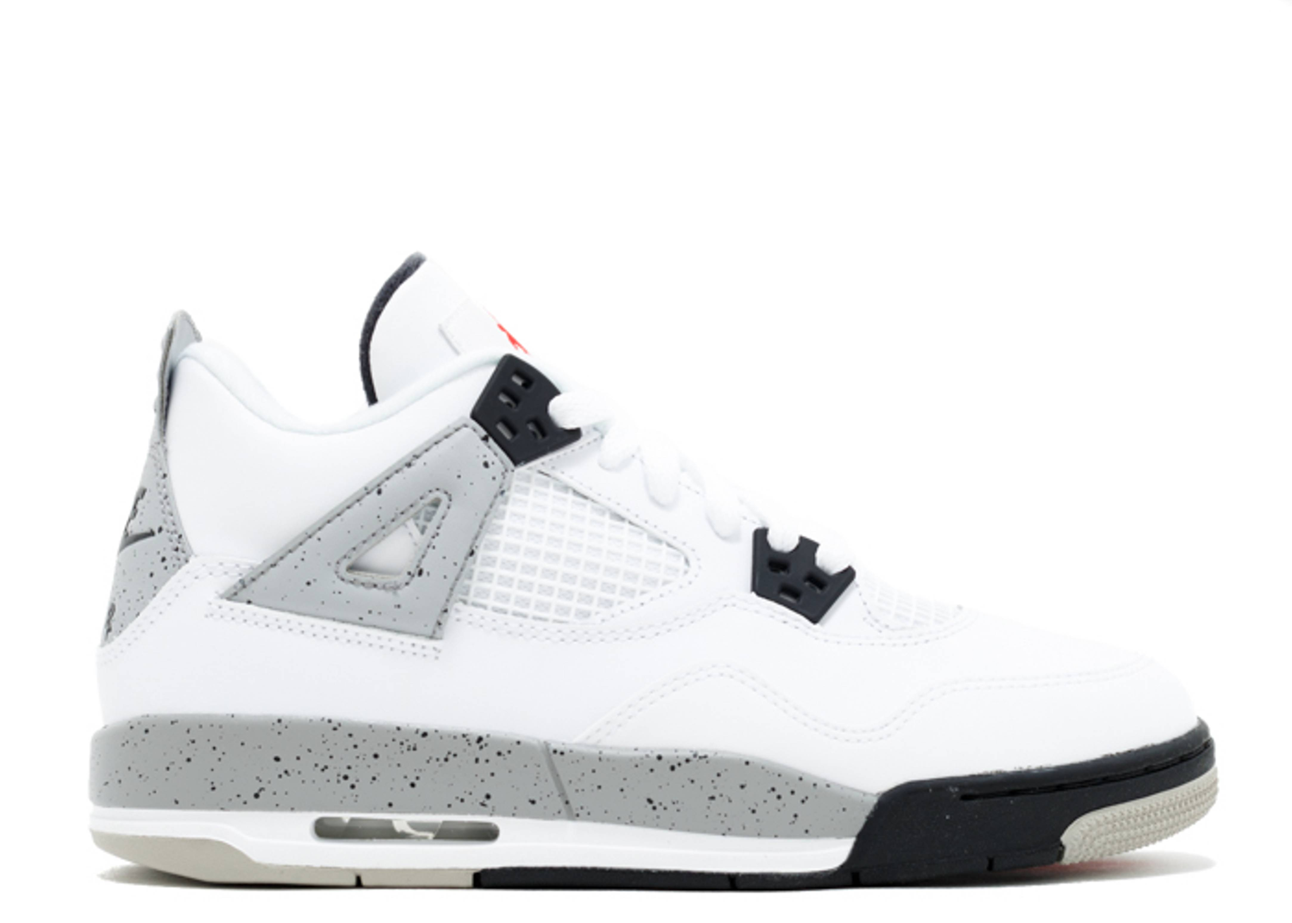 "air jordan 4 retro og bg (gs) ""white cement"""