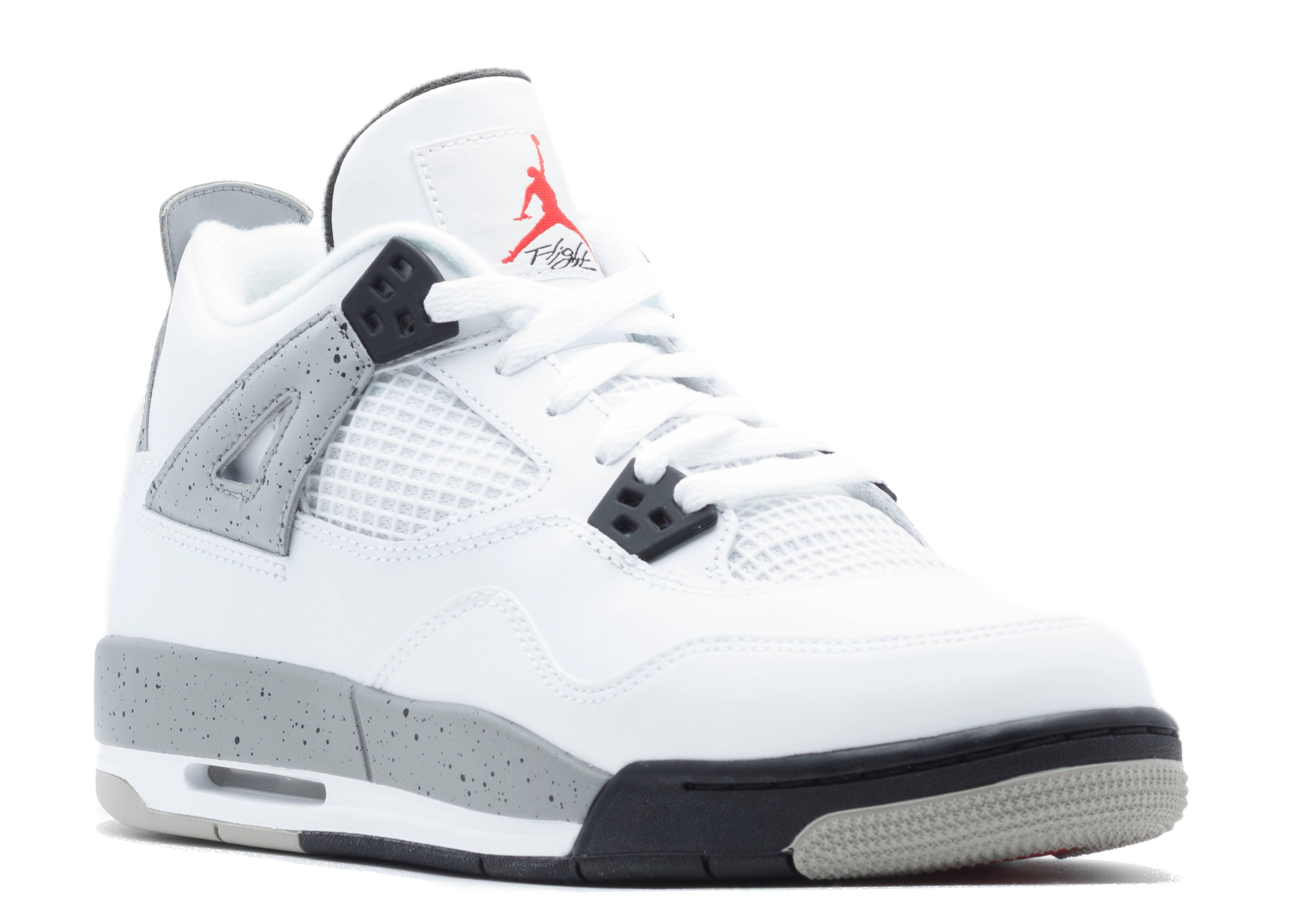 Air Jordan 4 Retro White Cement
