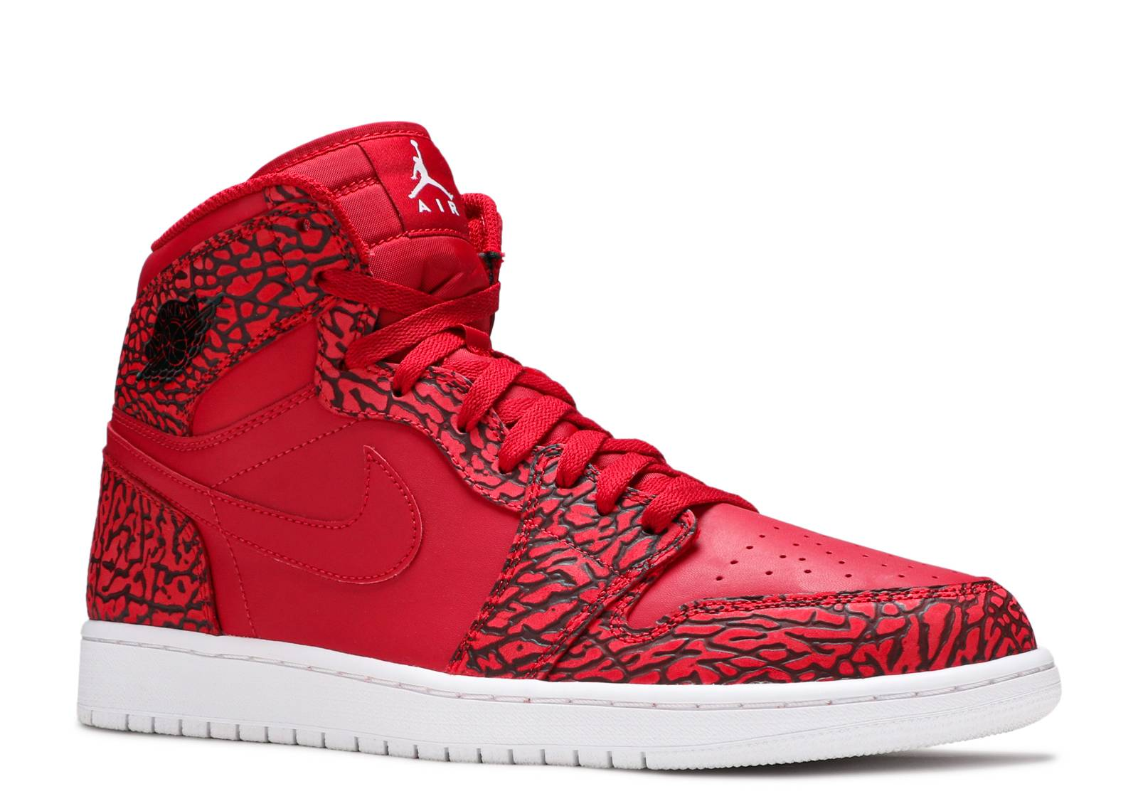 air jordan 1 retro high elephant print red