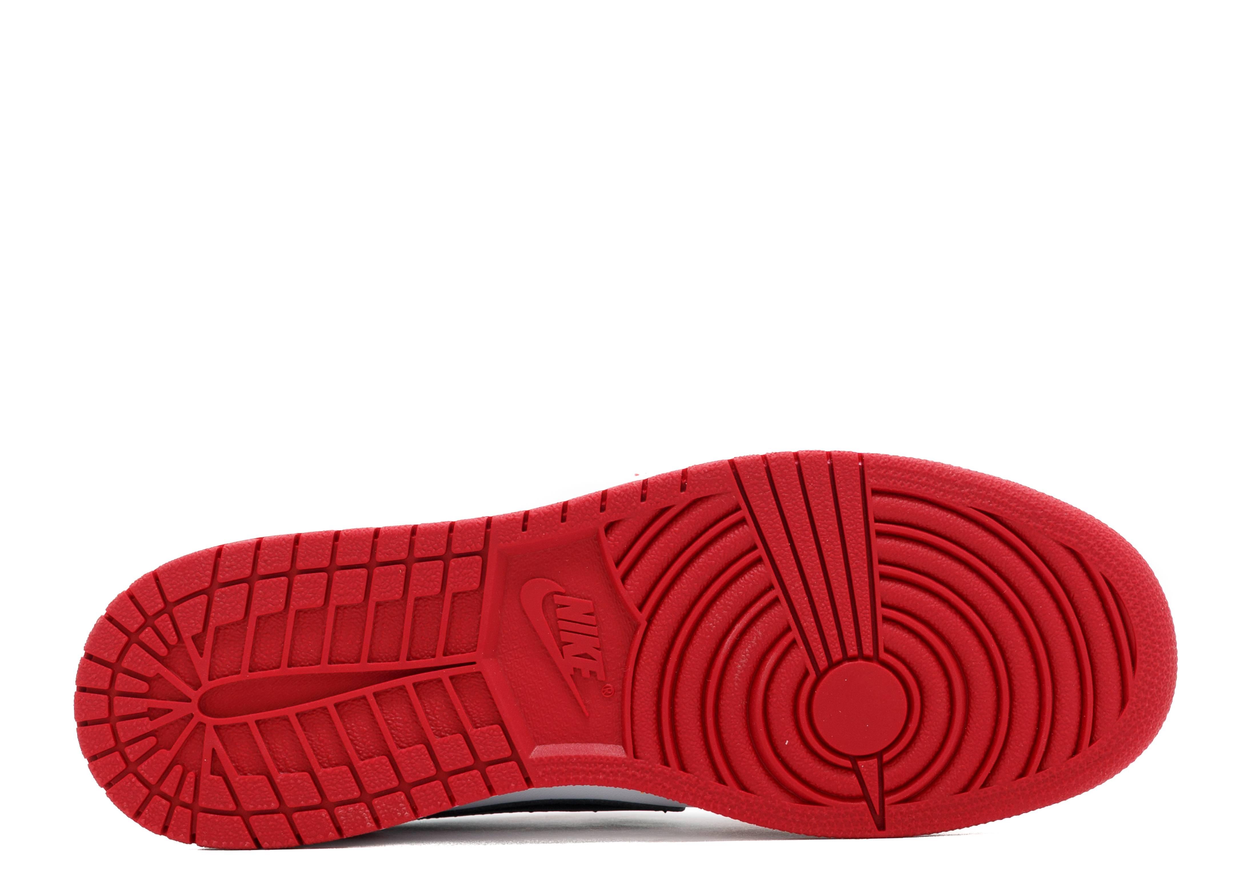 db9944dcb39 Air Jordan 1 Retro Low Og Bg - Air Jordan - 709999 600 - varsity red/black-white  | Flight Club