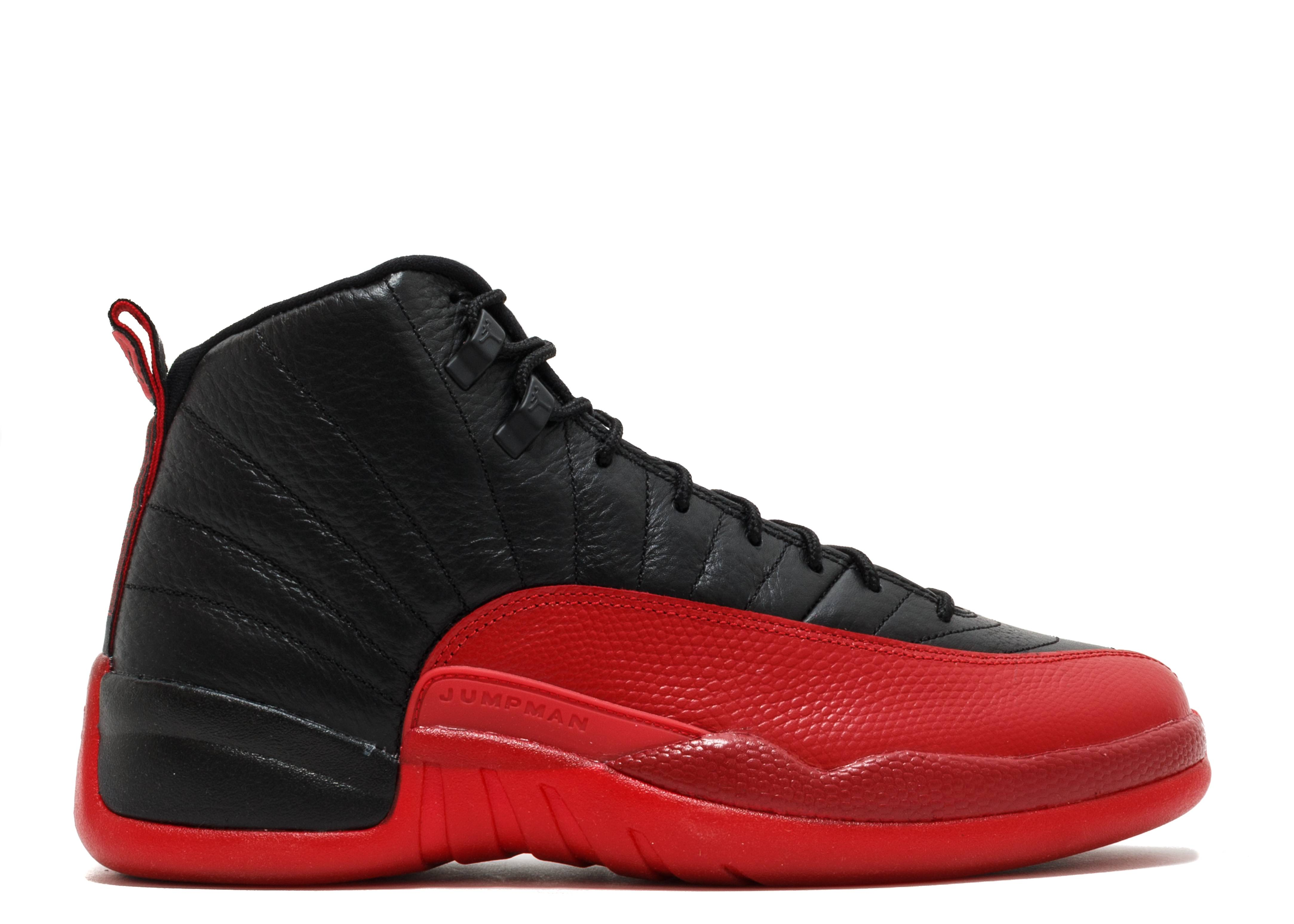 "air jordan 12 retro ""flu game 2016 release"""