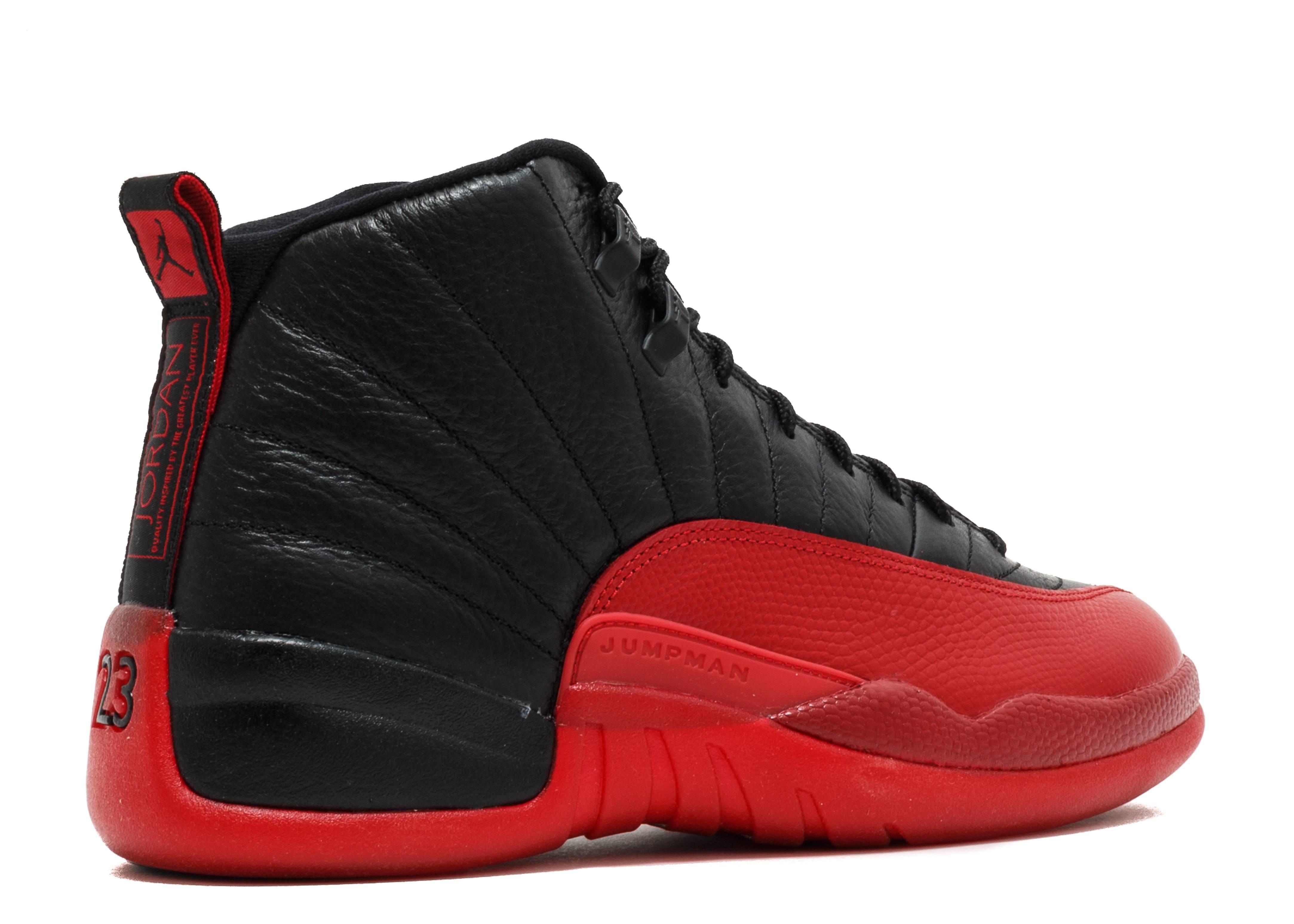 Air Jordan 12 Black Red