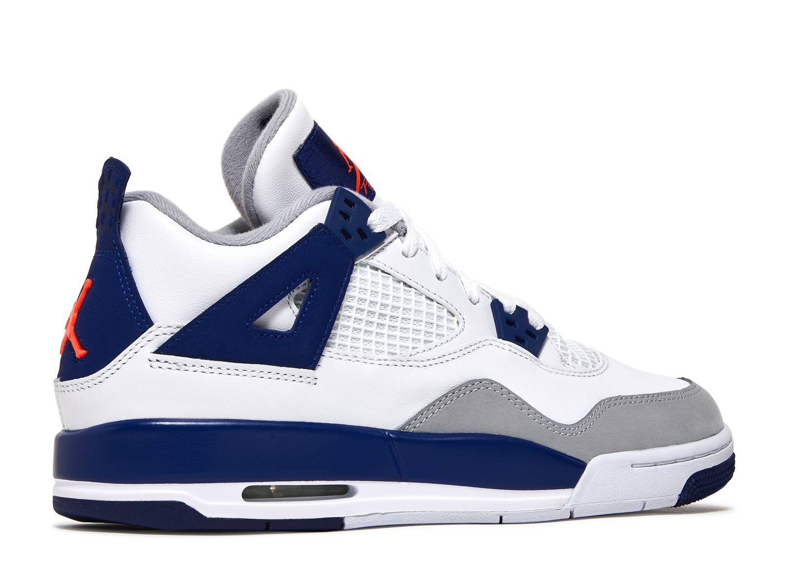 sports shoes 013a7 f6da5 ... Knicks White Deep Royal Blue-Wolf Grey-Hyper Orange For electric  players..  jordans 2014 popular air jordan 4 doernbecher for sale