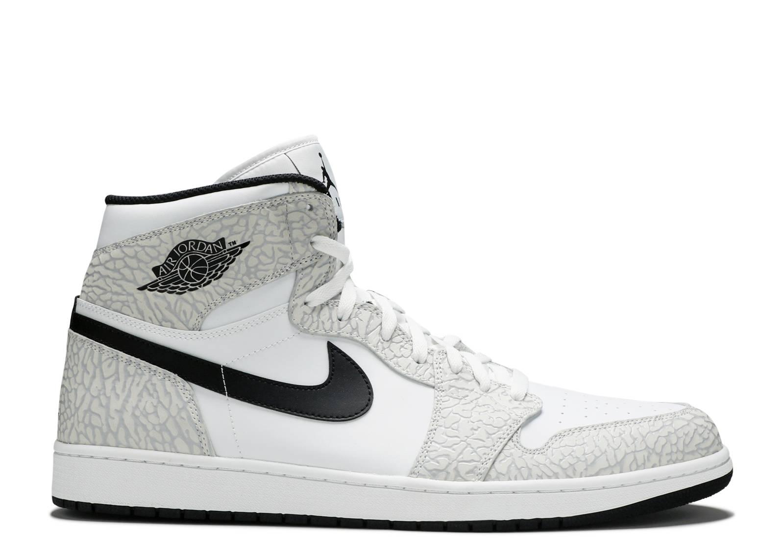 Air Jordan 1 Retro High - Air Jordan - 839115 106 - white black-pure  platinum  573452876