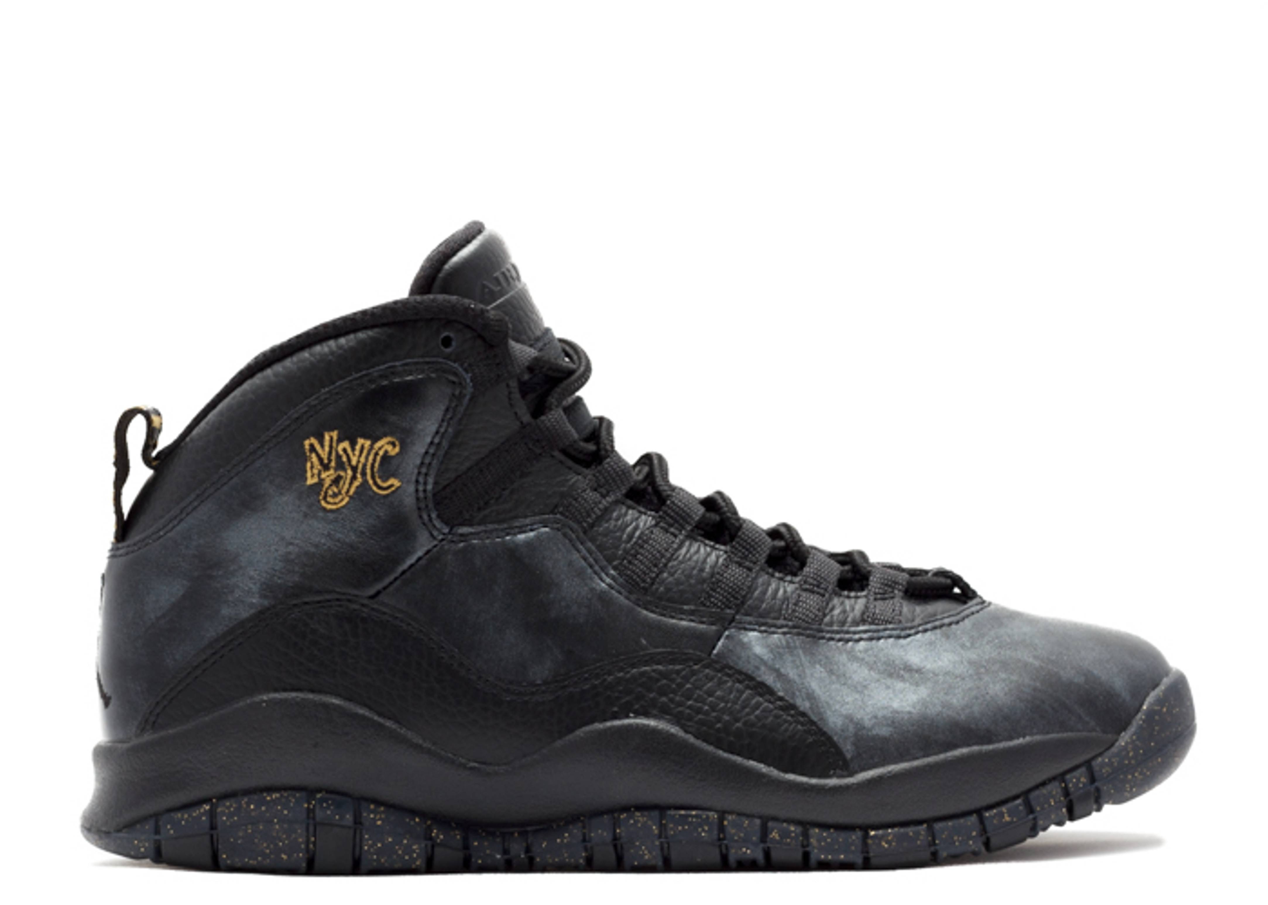 air jordan retro 10 black
