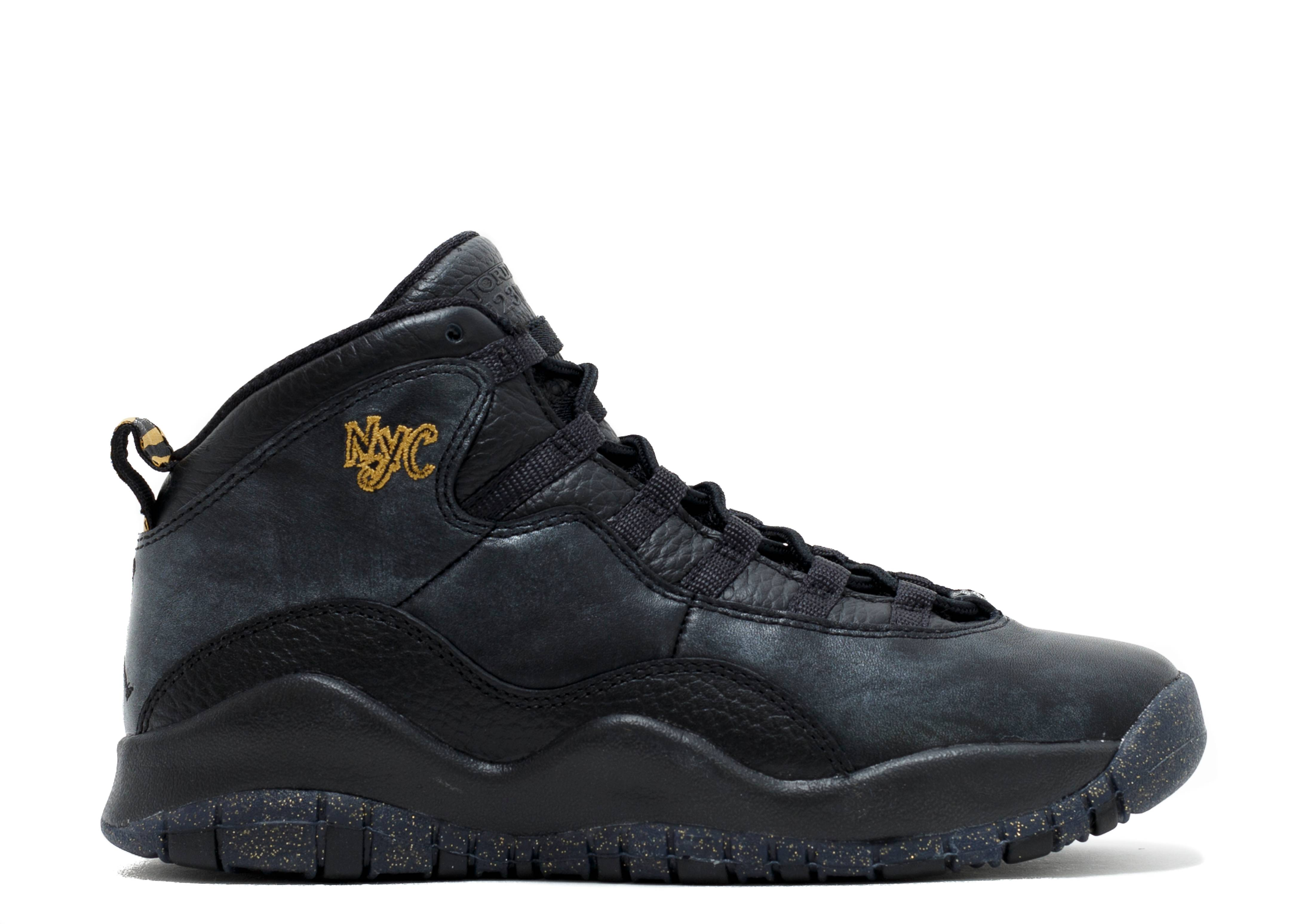 "air jordan 10 retro bg (gs) ""nyc"""
