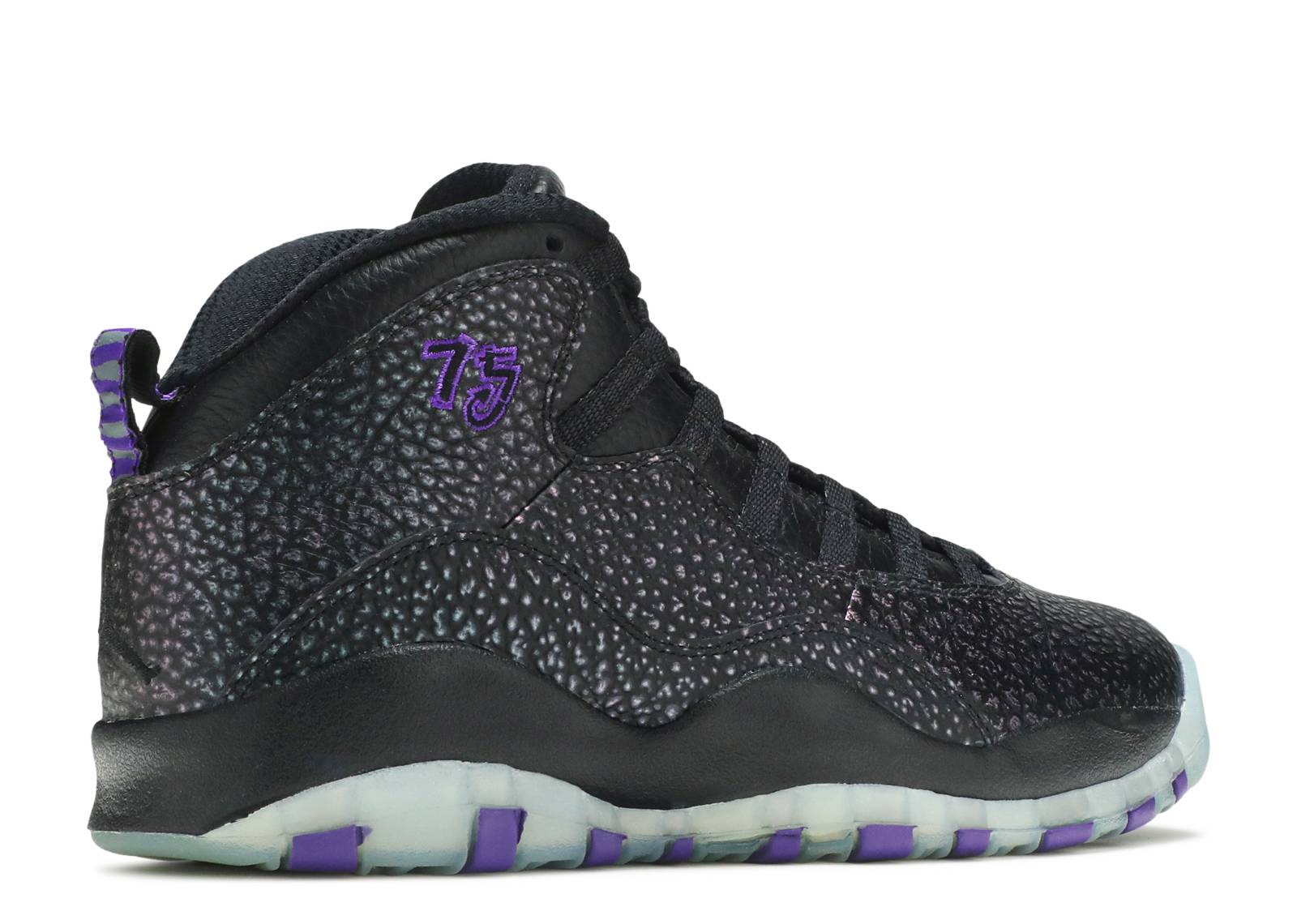 air jordan 10 black purple