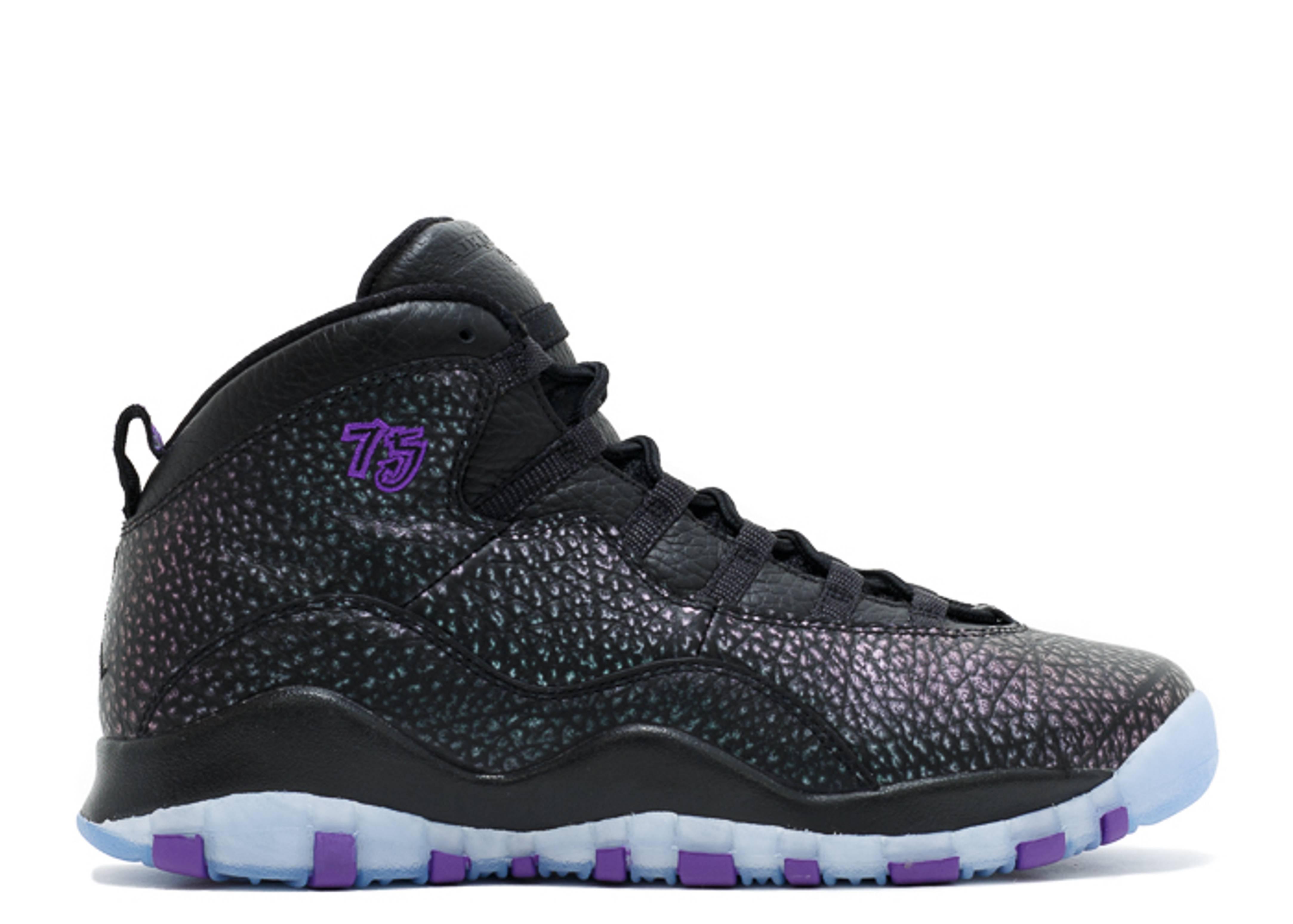 Air Jordan 10 Grey Purple