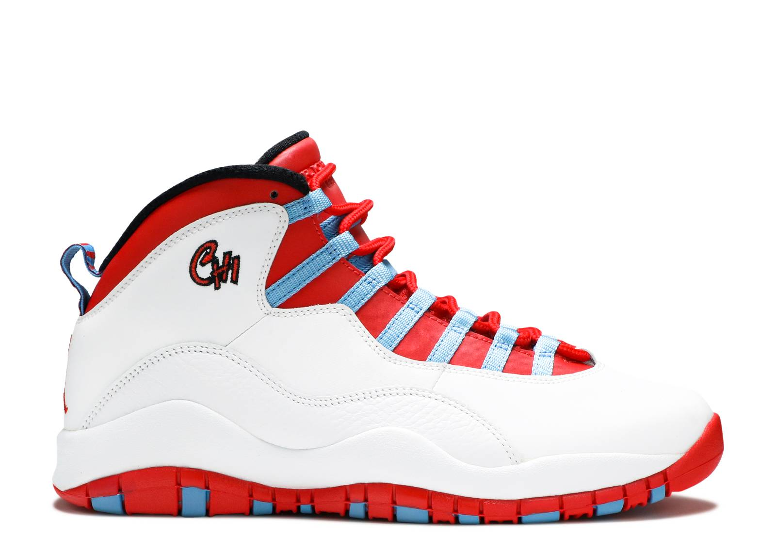 Authentic Air Jordan 10 Retro Bg Chicago Shoe For Sale