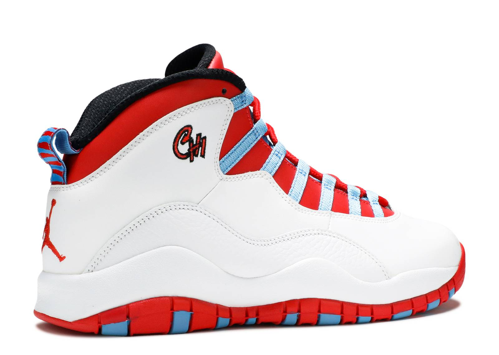 Air Jordan 10 Chicago Flag