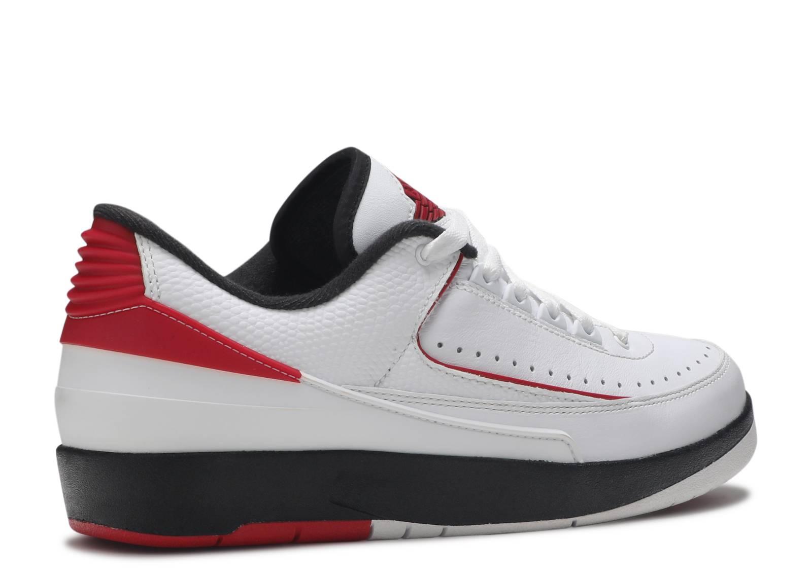 sale retailer 721aa 80d22 air jordan 2 low red orange sneakerdiscount