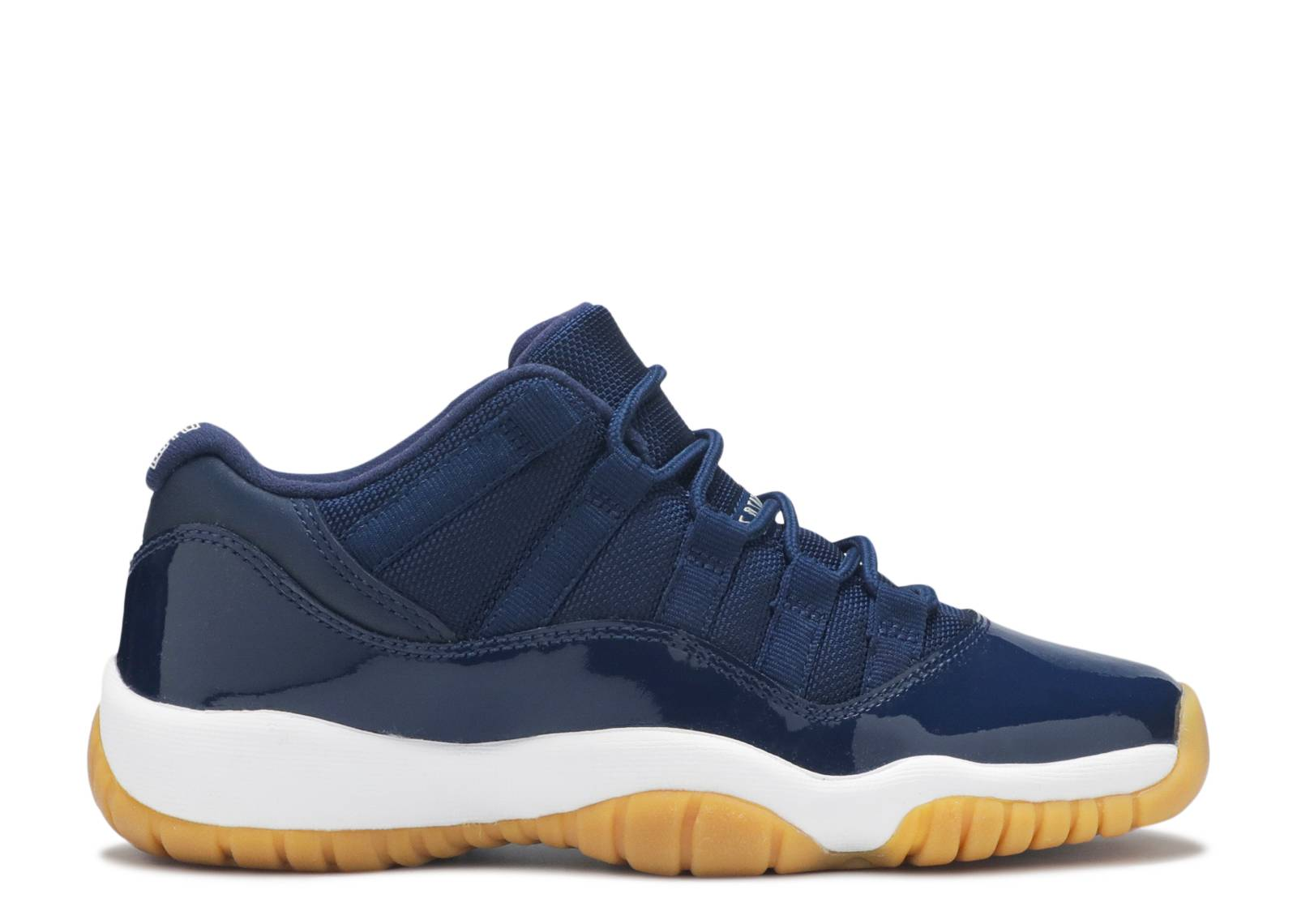 "air jordan 11 retro low bg (gs) ""navy gum"""