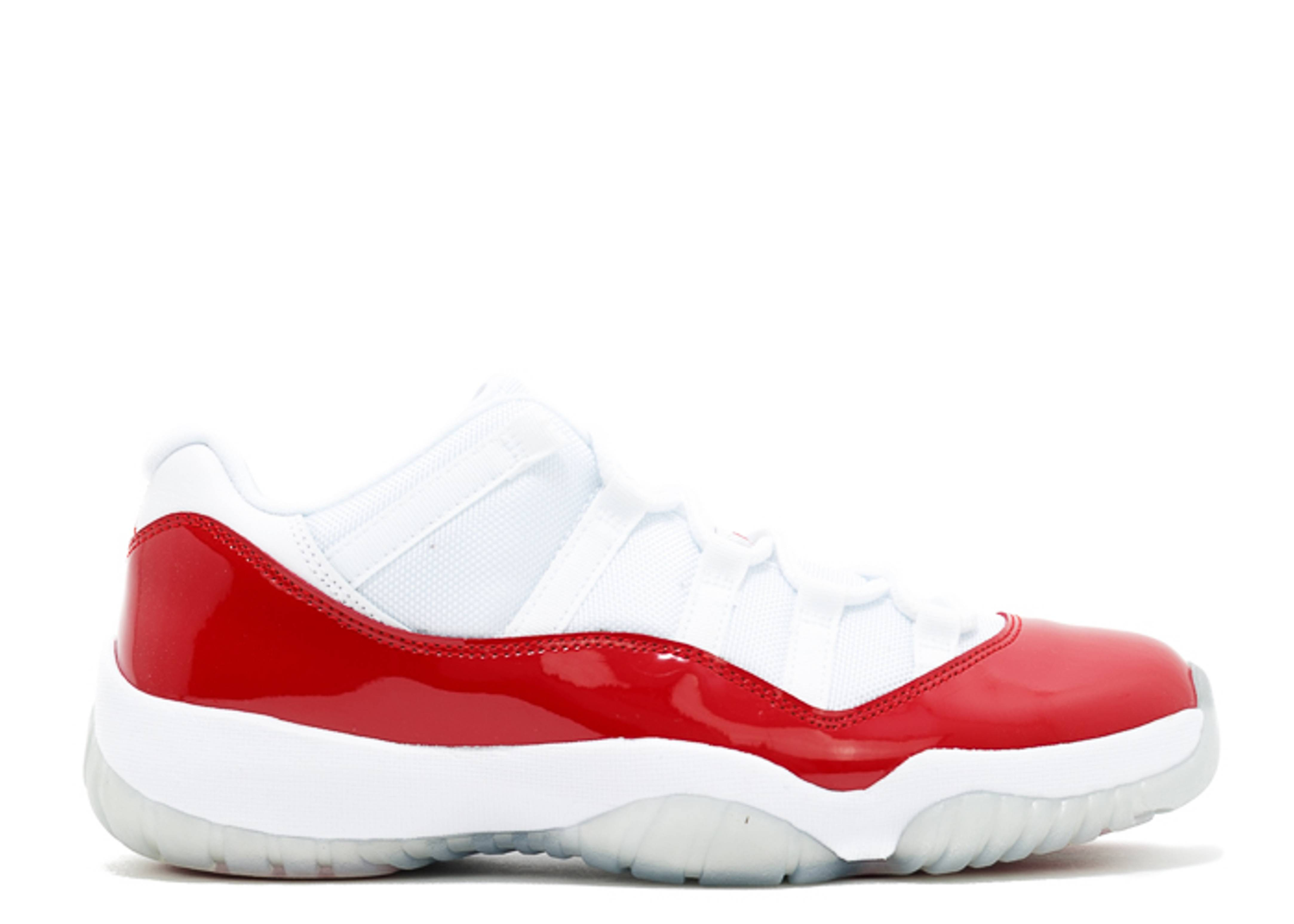 Air Jordan 11 Retro Low 'Cherry Bottom'