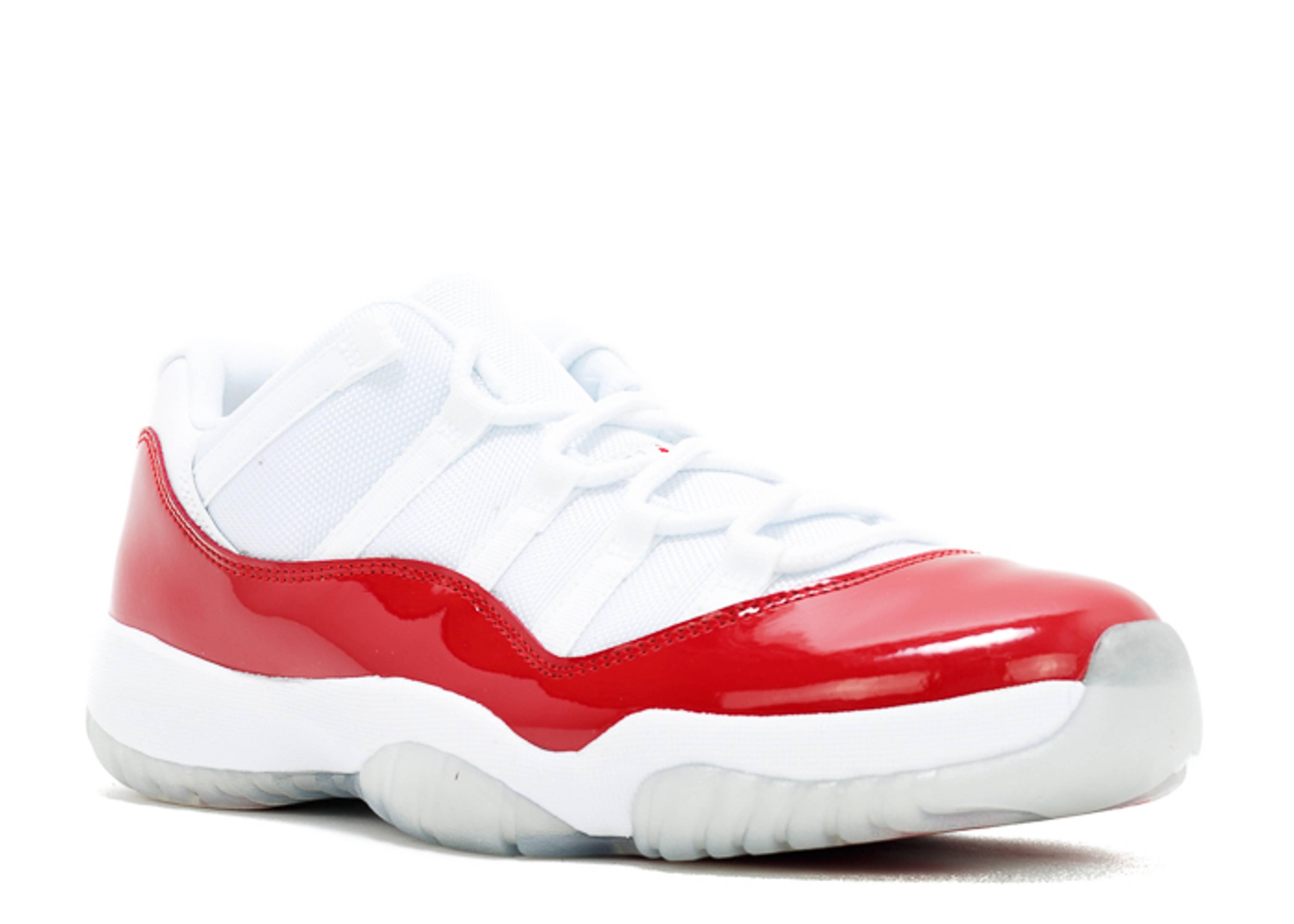 Air Jordan 11 Low Varsity Red