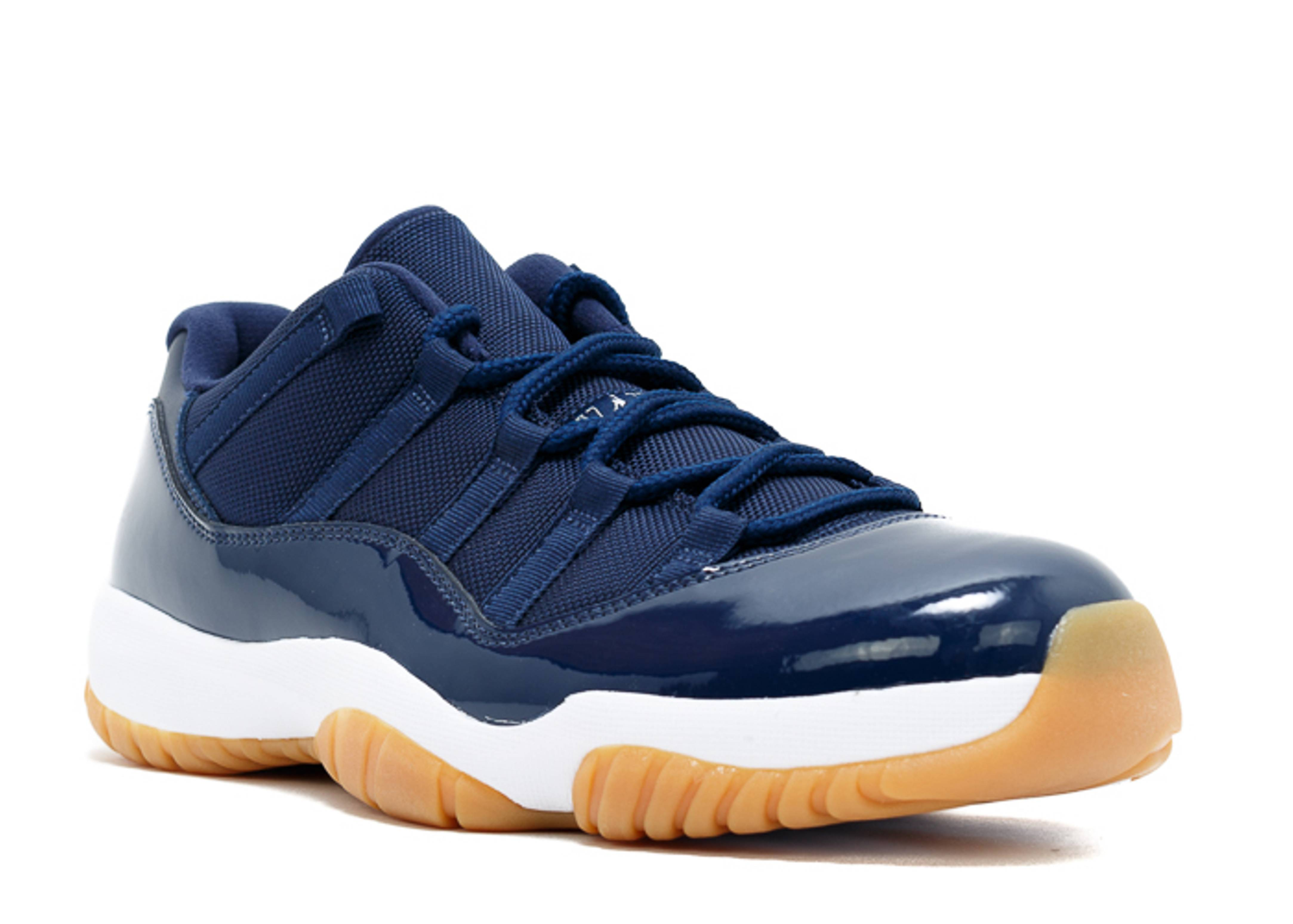air jordan 11 low navy