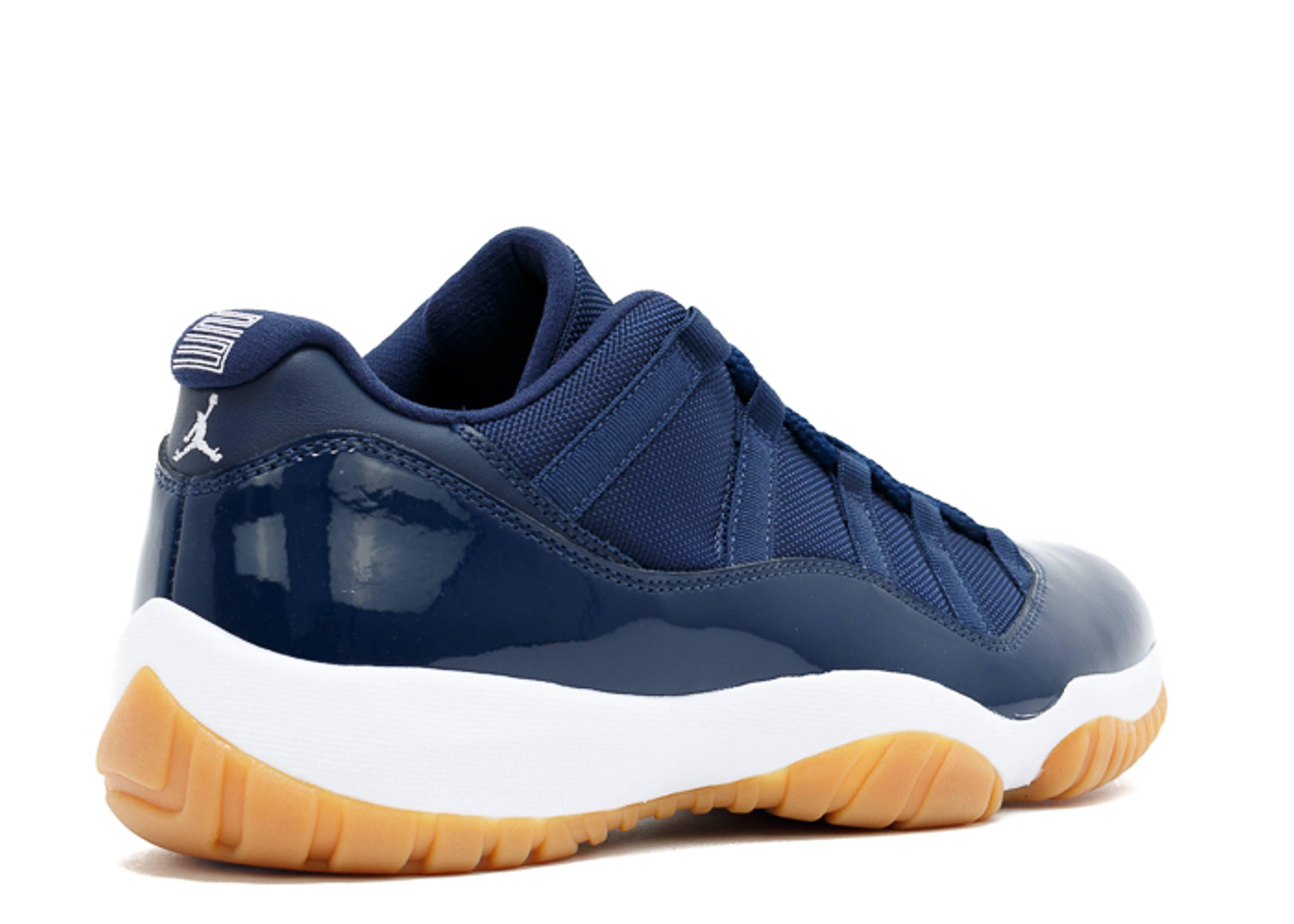 "Jordan Retro 11: Air Jordan 11 Retro Low ""navy Gum"""