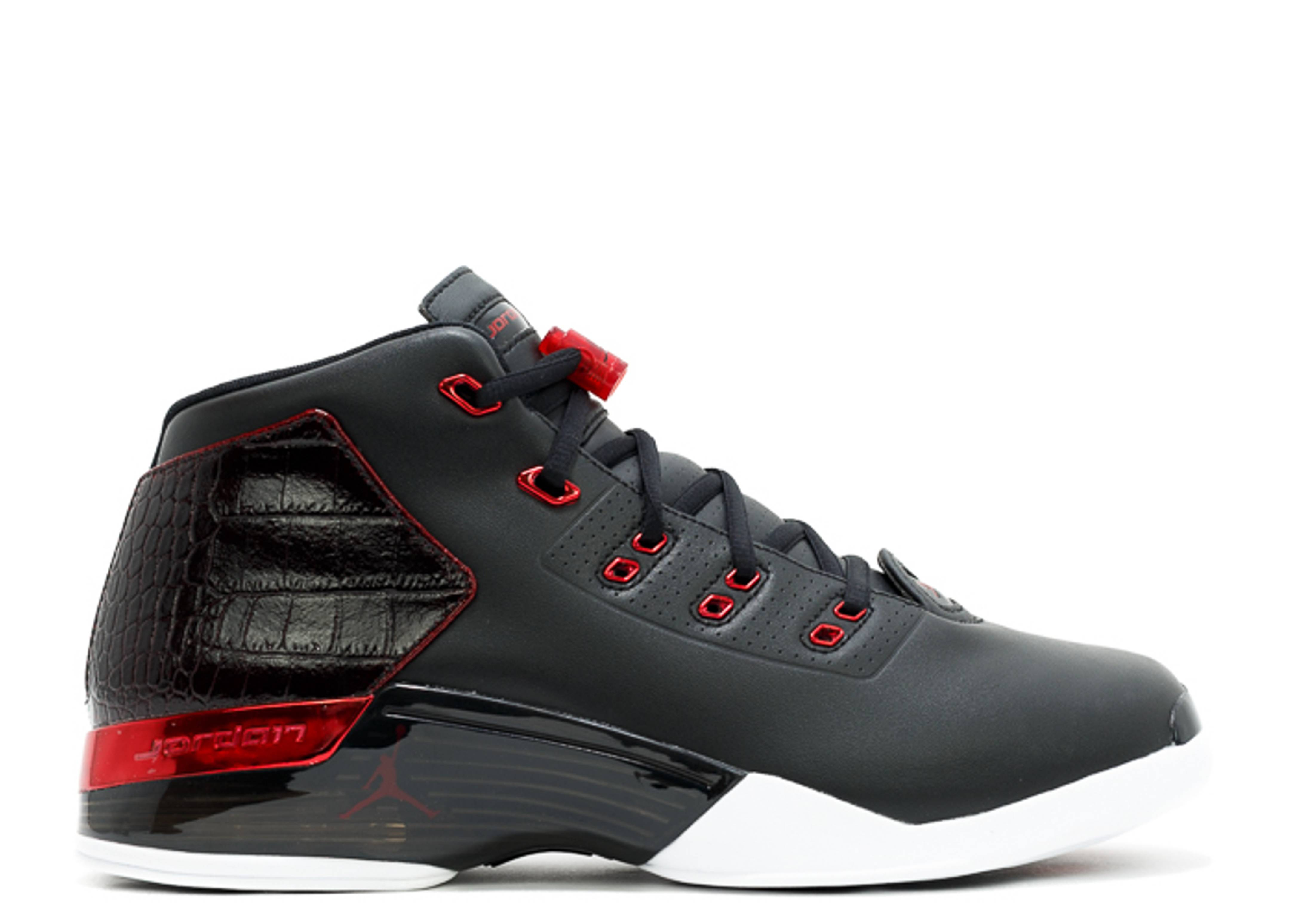 Air Jordan 17 Retro Quot Bulls Quot Black Gym Red White