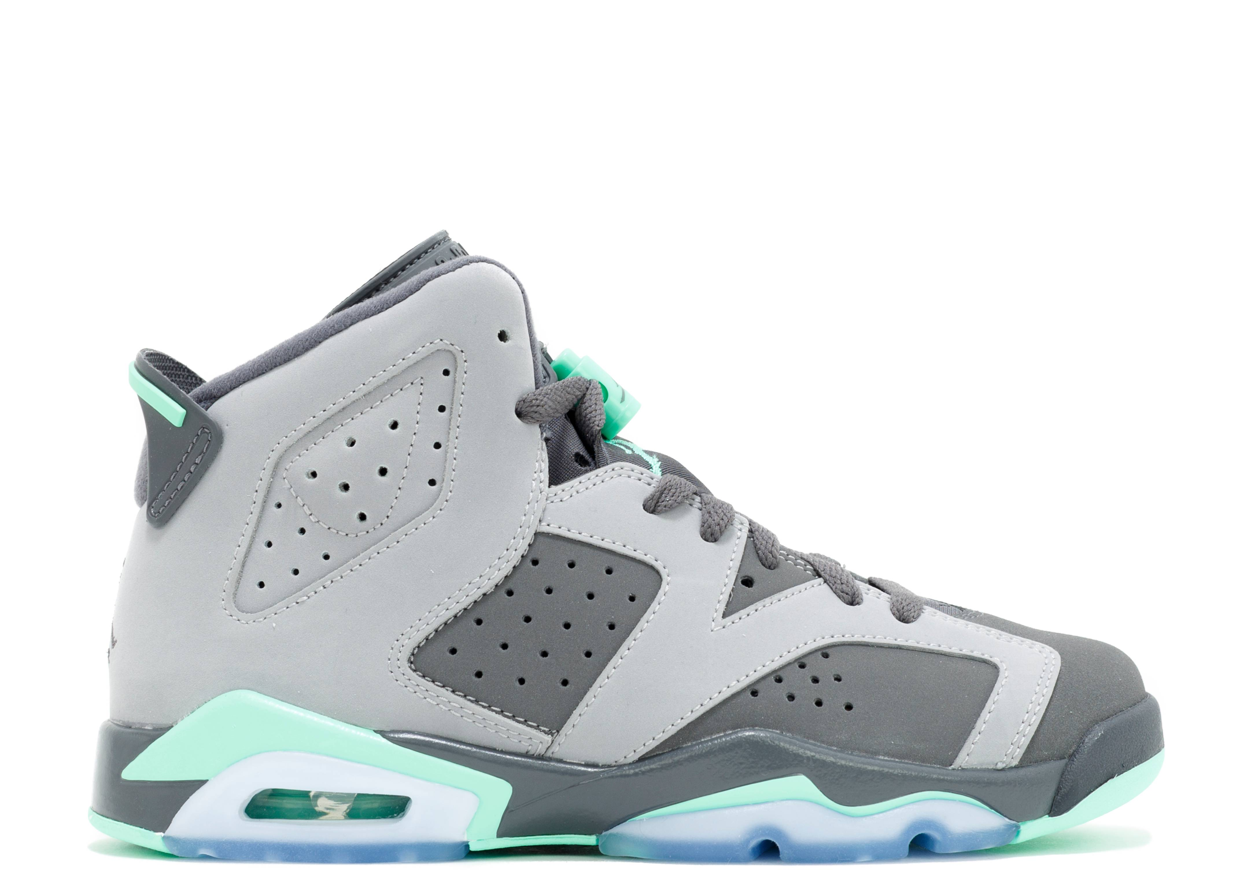 "air jordan 6 retro gg (gs) ""Green Glow"""