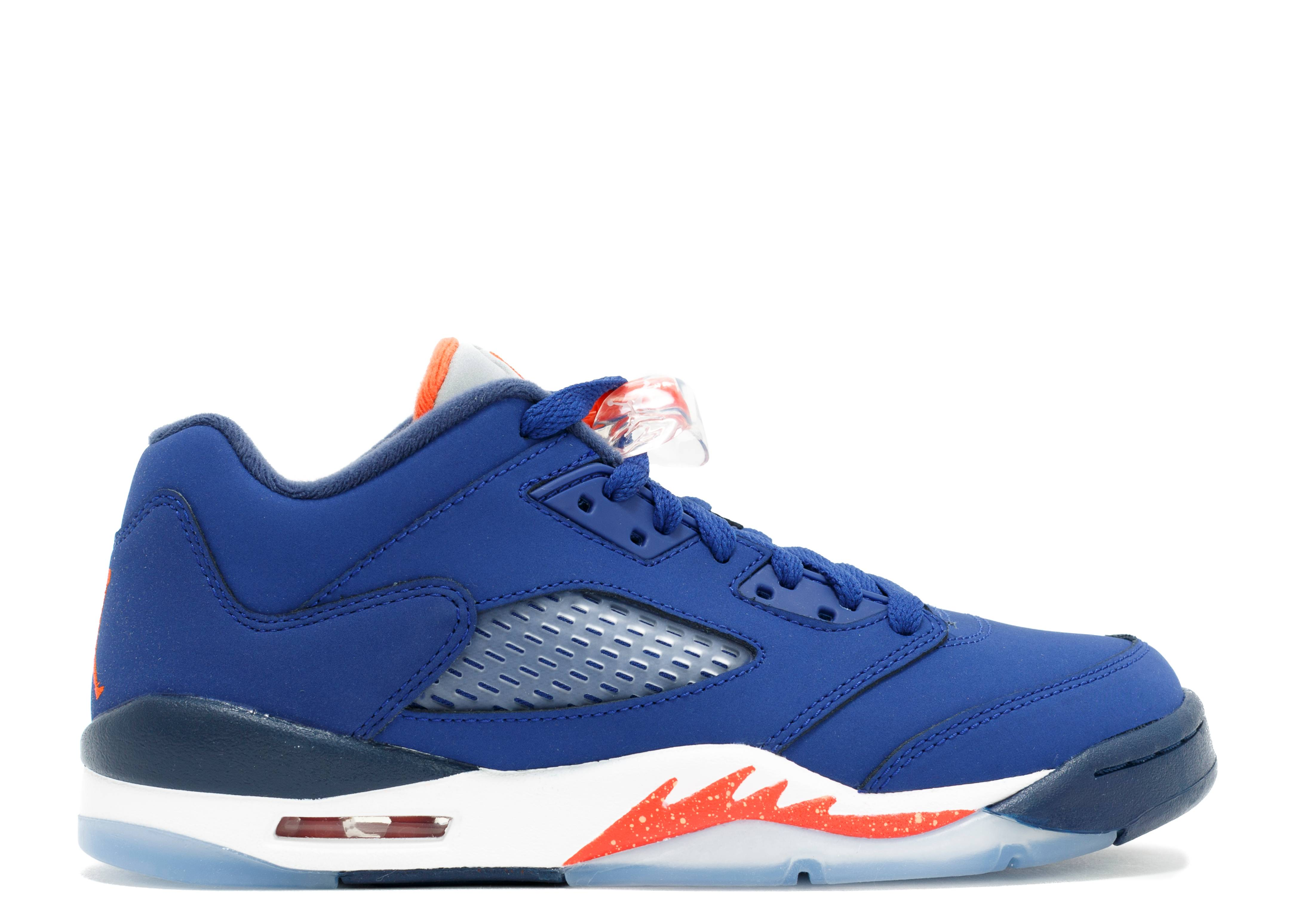 "air jordan 5 retro low (gs) ""knicks"""