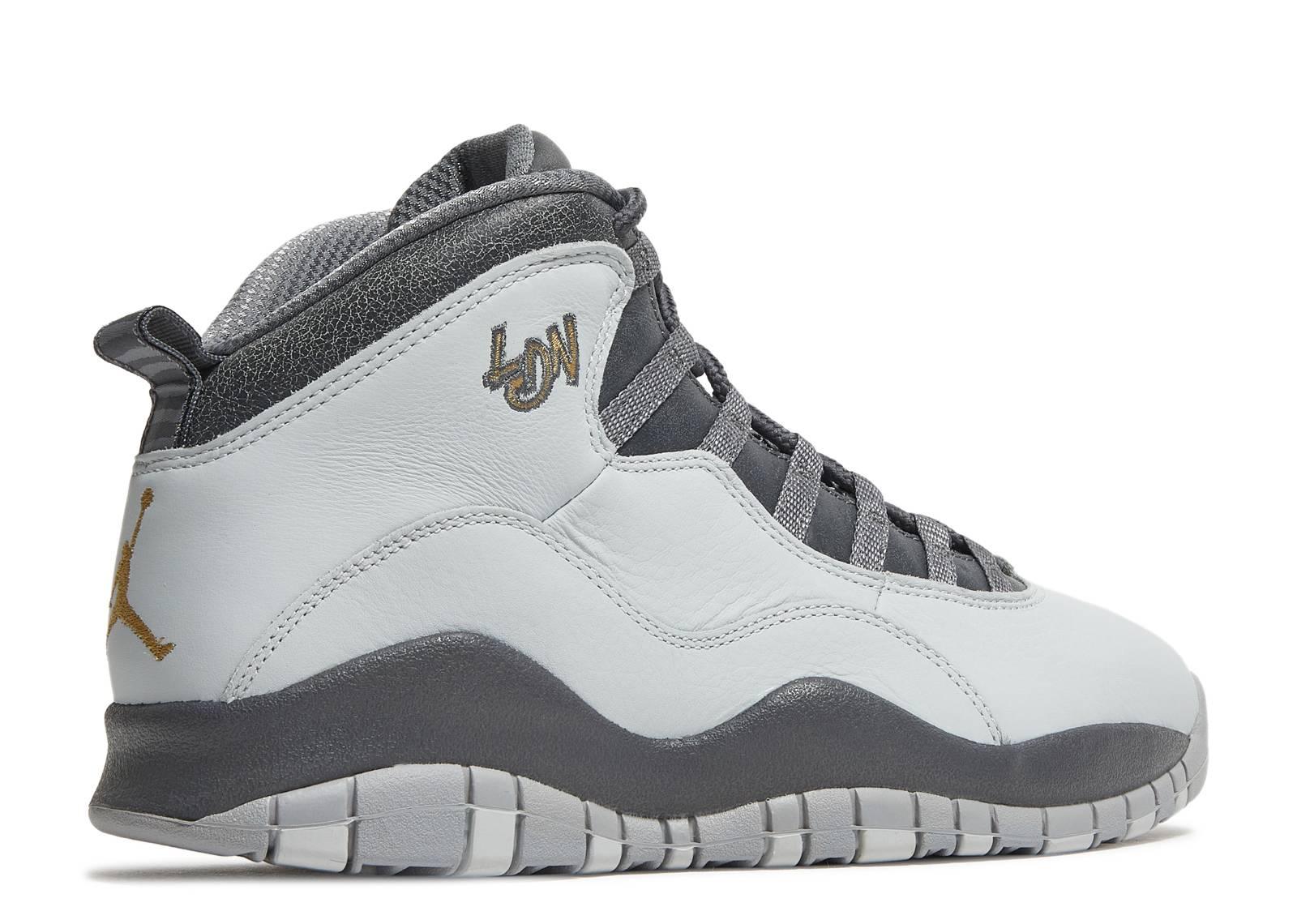 air jordan retro 10 white grey